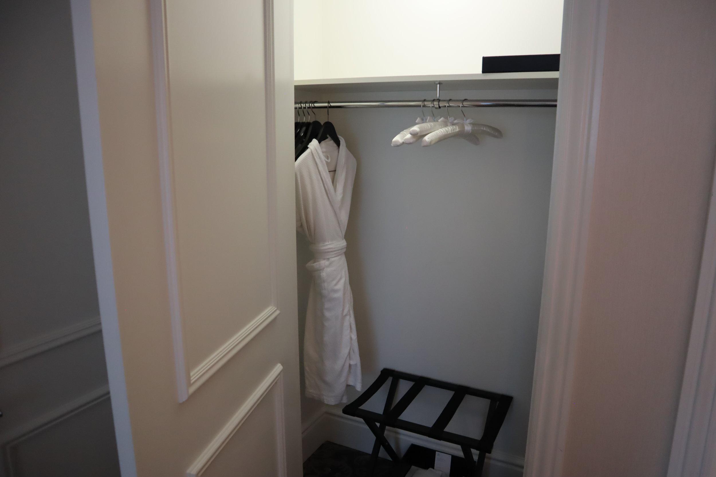 St. Regis Toronto – Two-bedroom suite guest bedroom closet