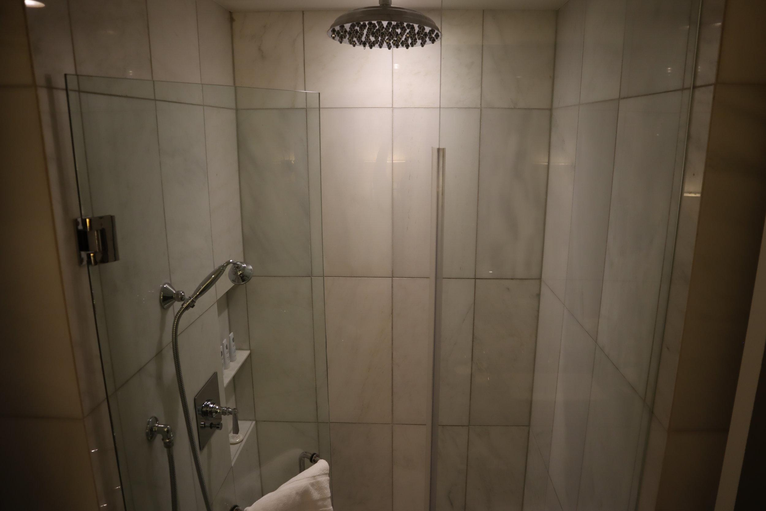 St. Regis Toronto – Two-bedroom suite guest bathroom shower