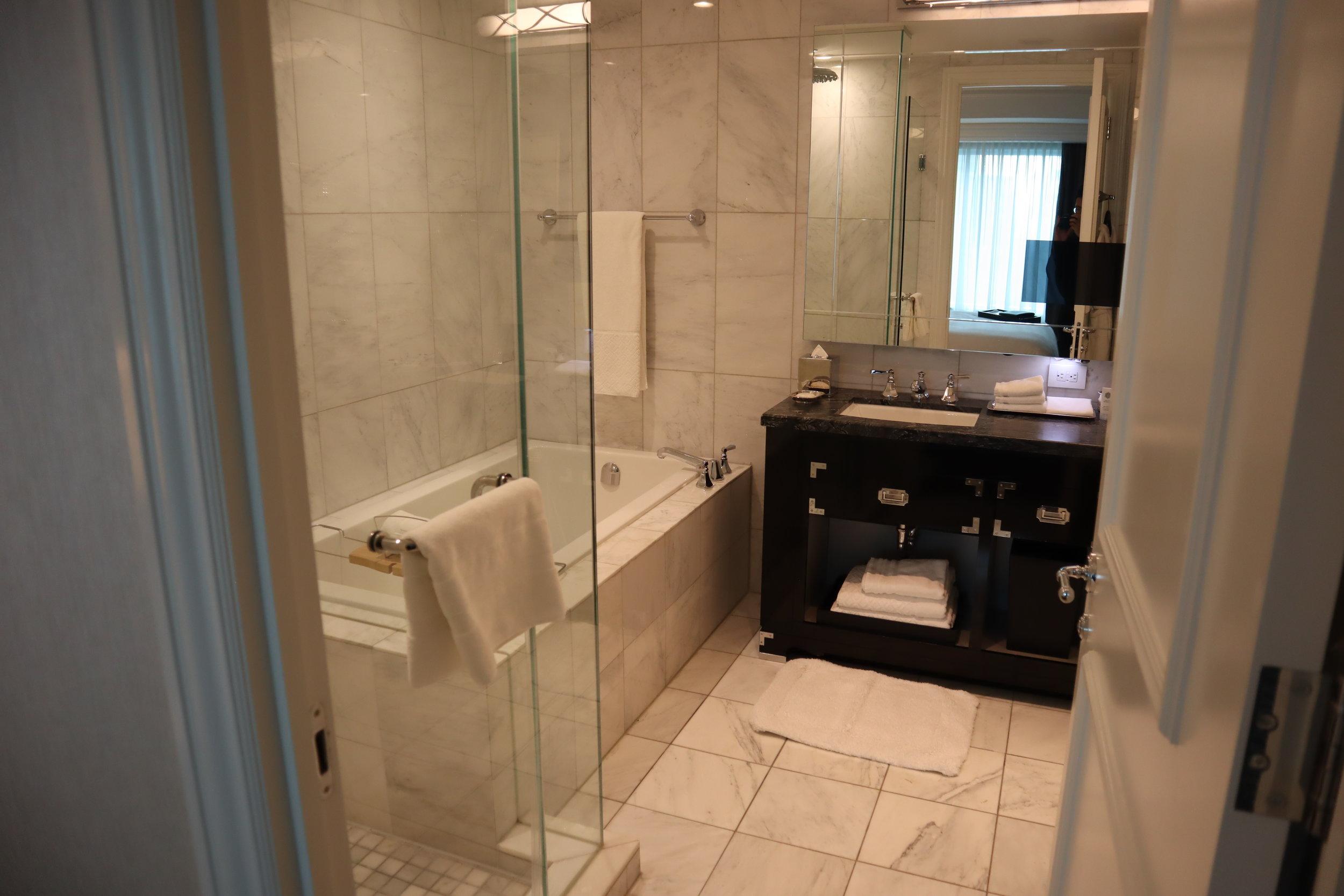 St. Regis Toronto – Two-bedroom suite master bathroom