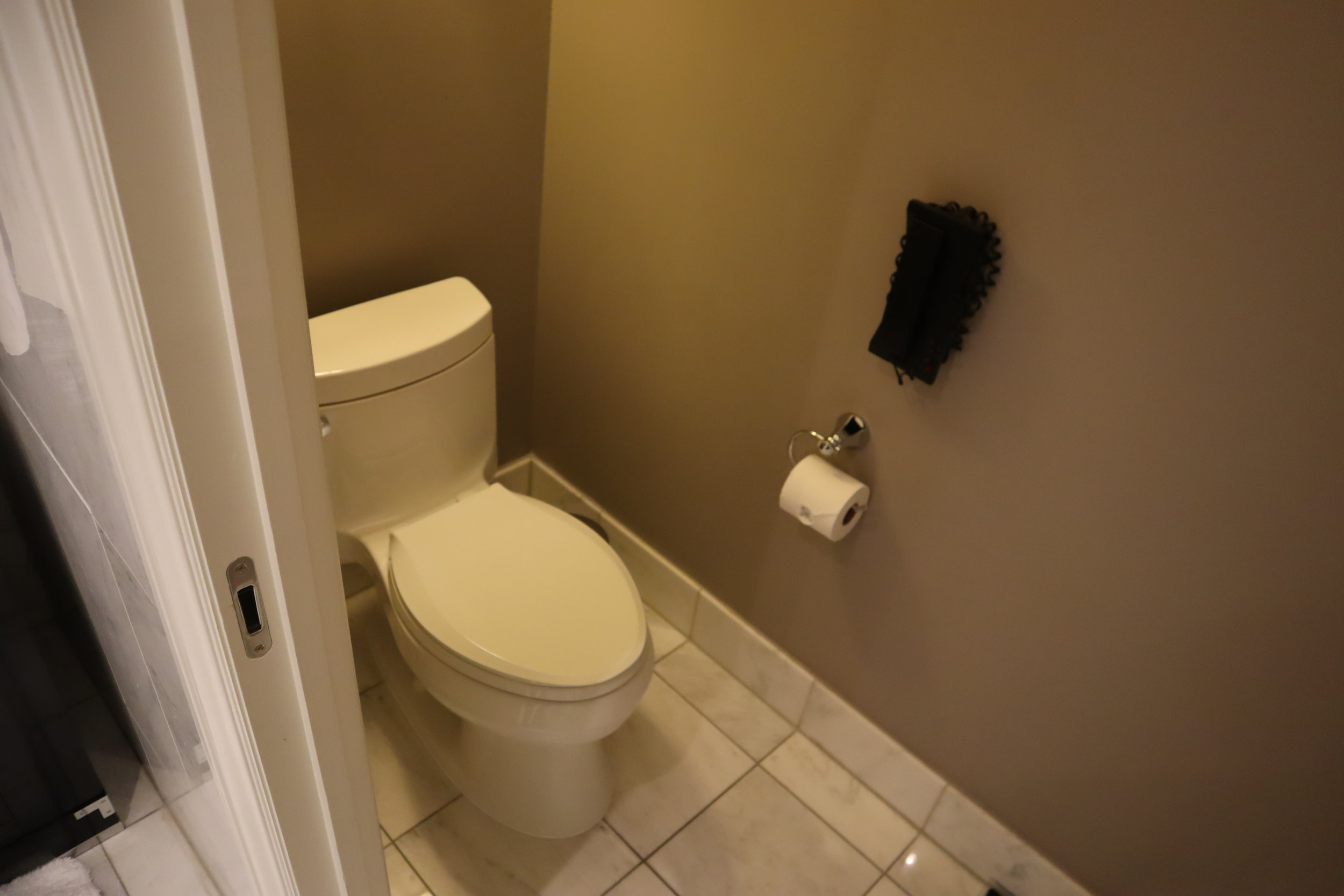 St. Regis Toronto – Two-bedroom suite master bathroom toilet