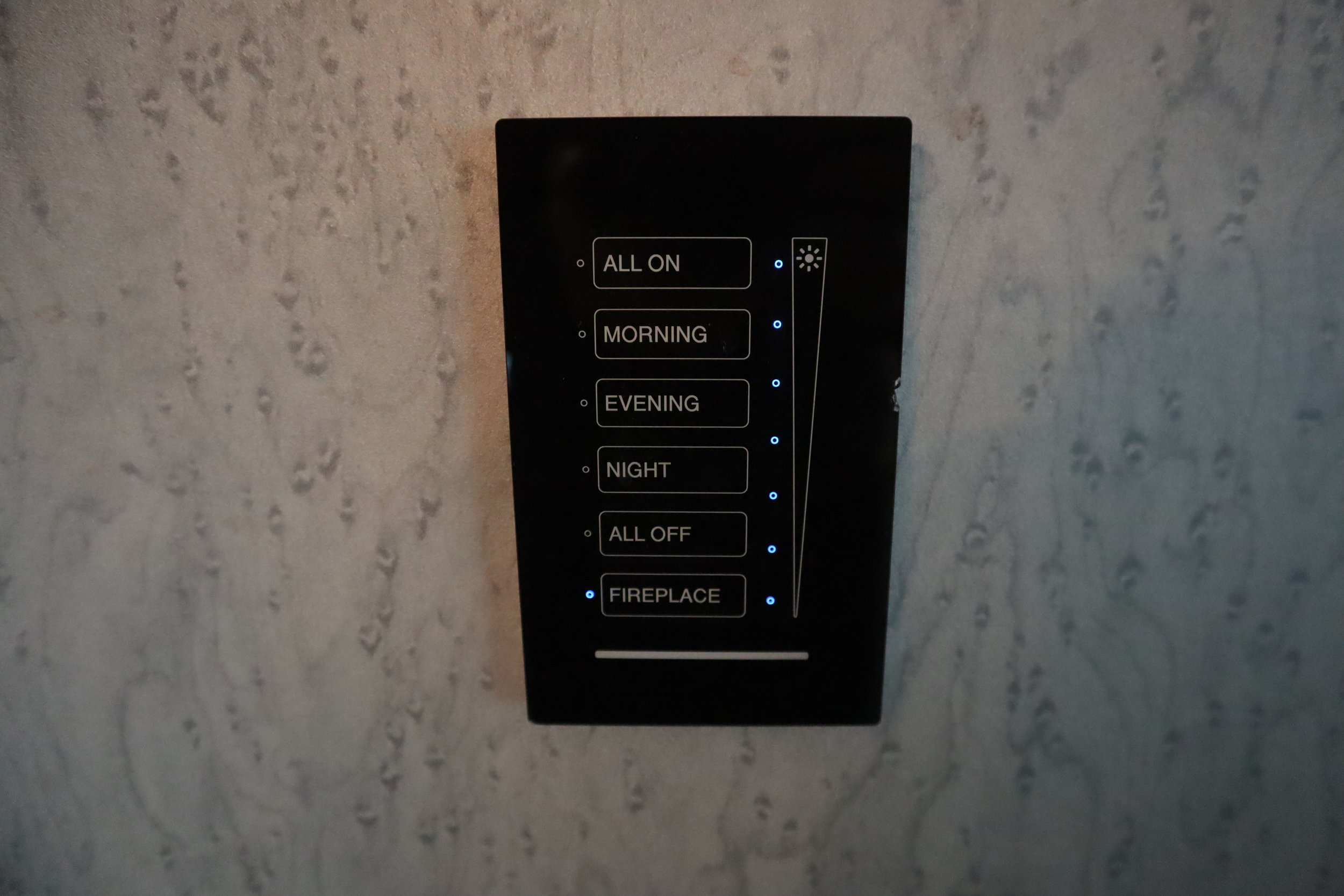 St. Regis Toronto – Control panels