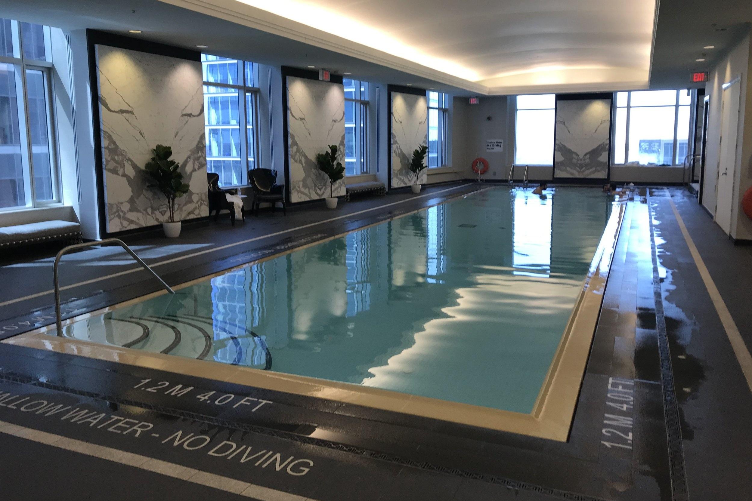 St. Regis Toronto – Indoor pool