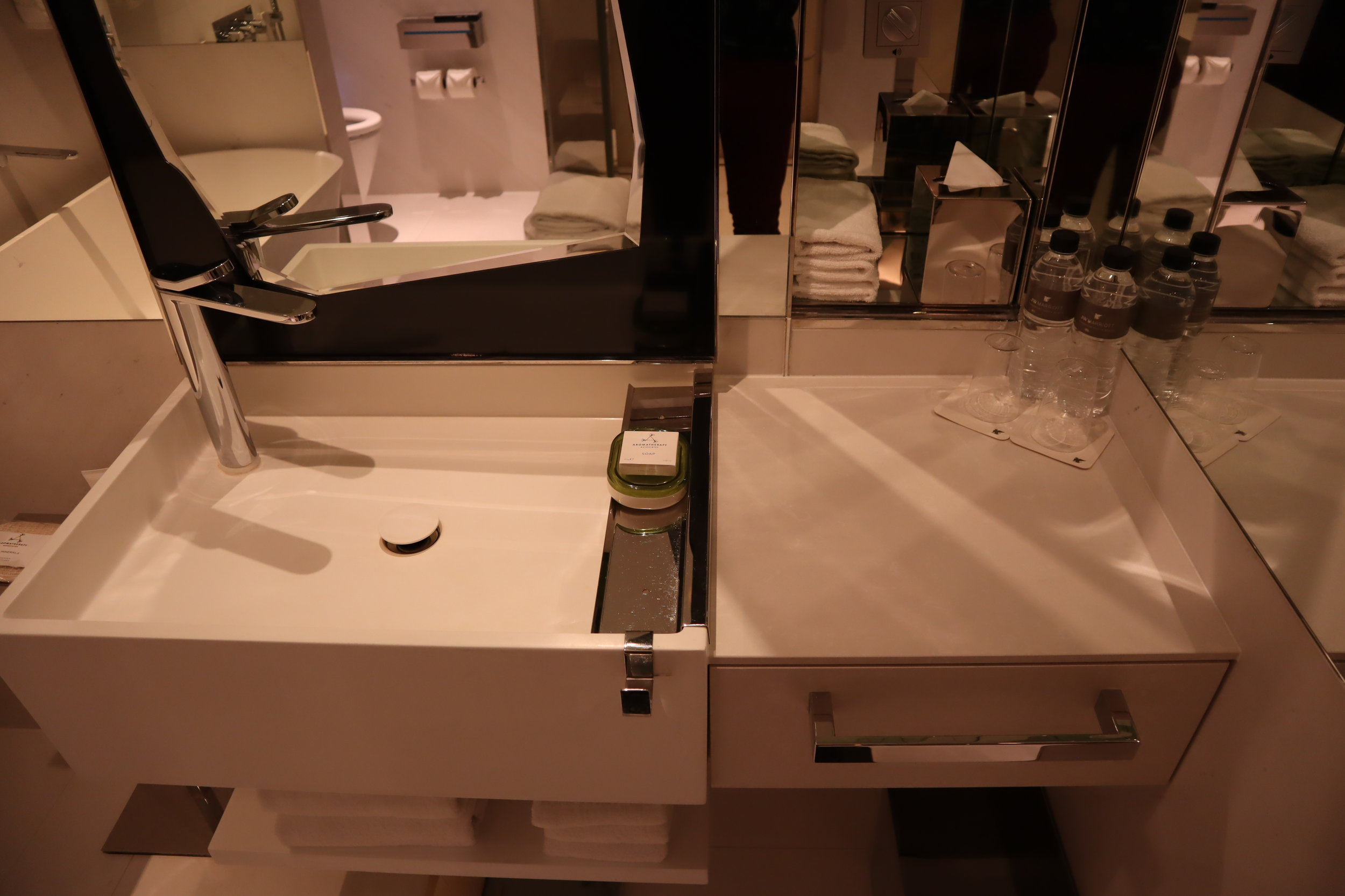 JW Marriott Singapore South Beach – Sink and mirror
