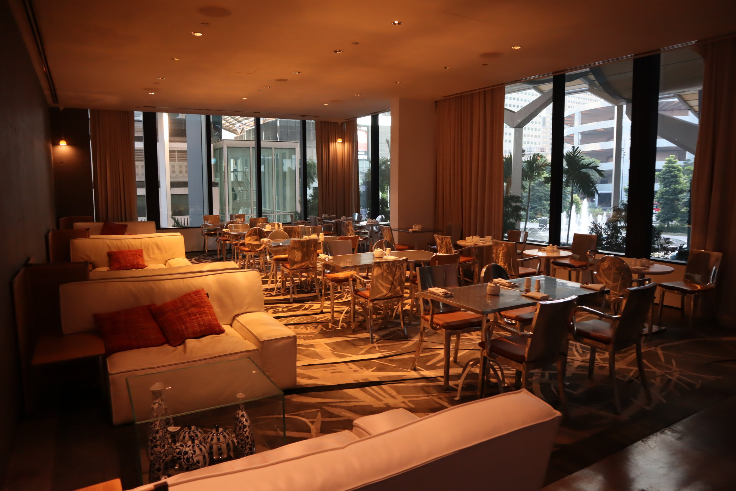 JW Marriott Singapore South Beach – Executive Lounge seating