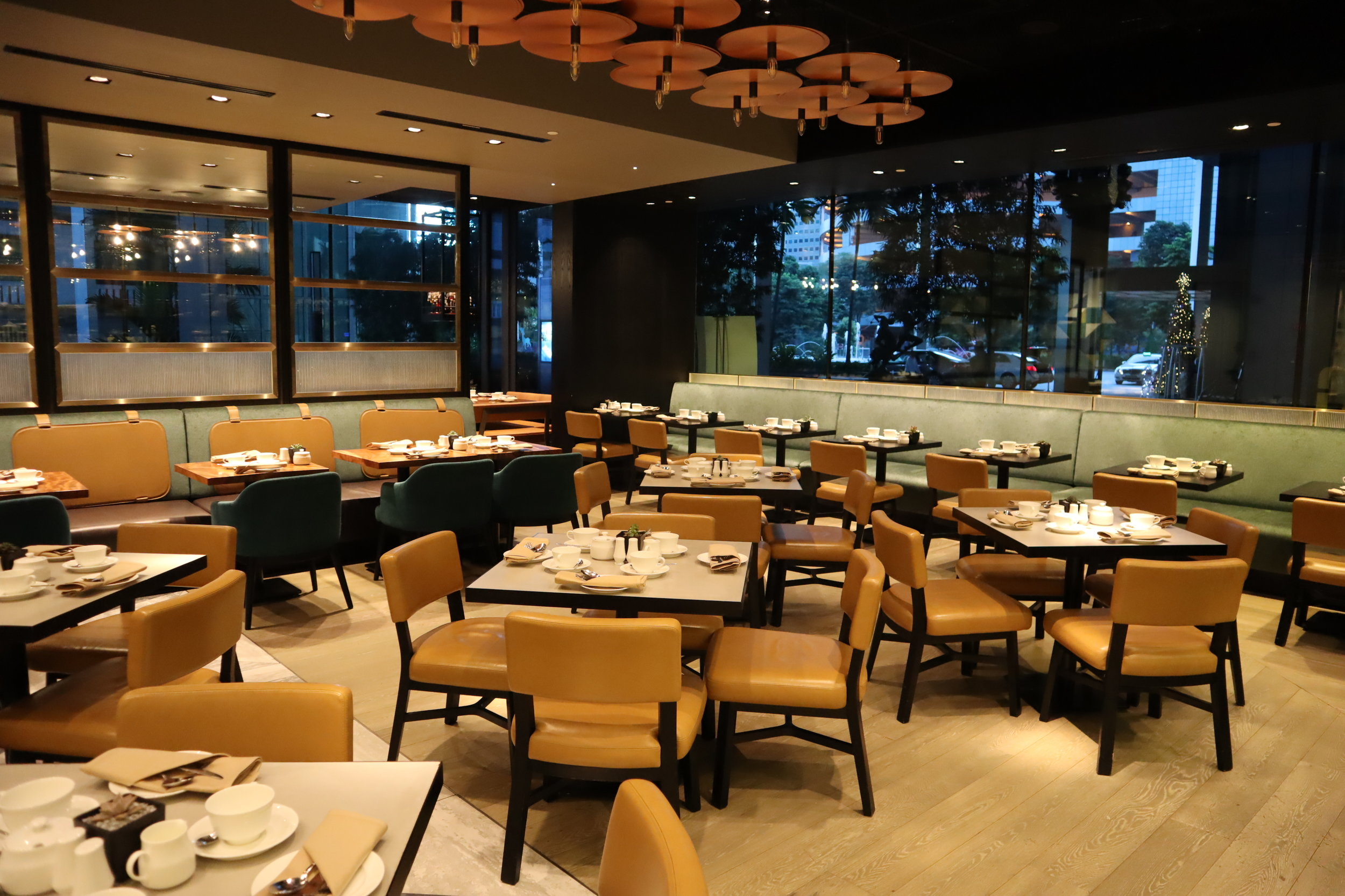 JW Marriott Singapore South Beach – Beach Road Kitchen seating