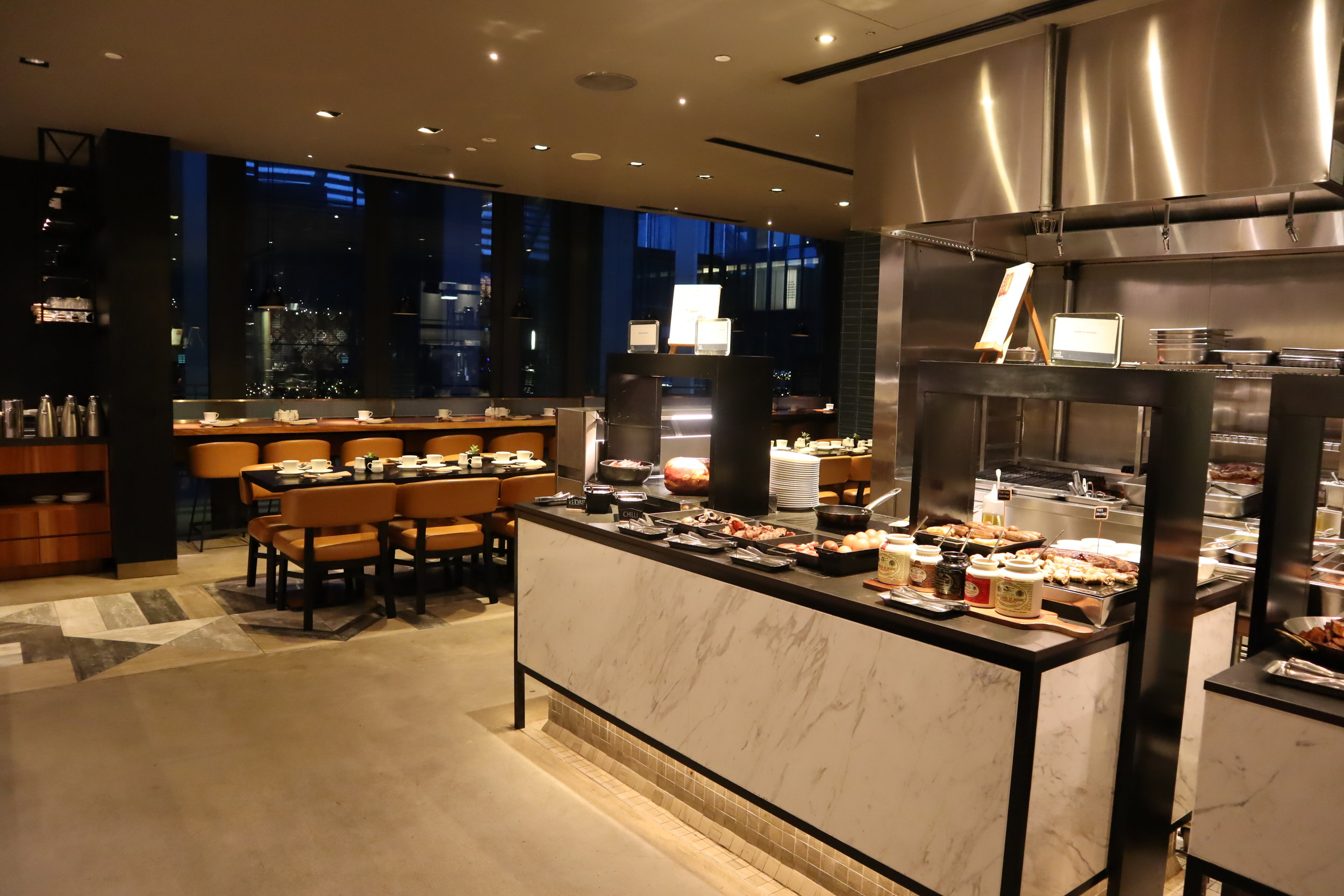 JW Marriott Singapore South Beach – Beach Road Kitchen buffet