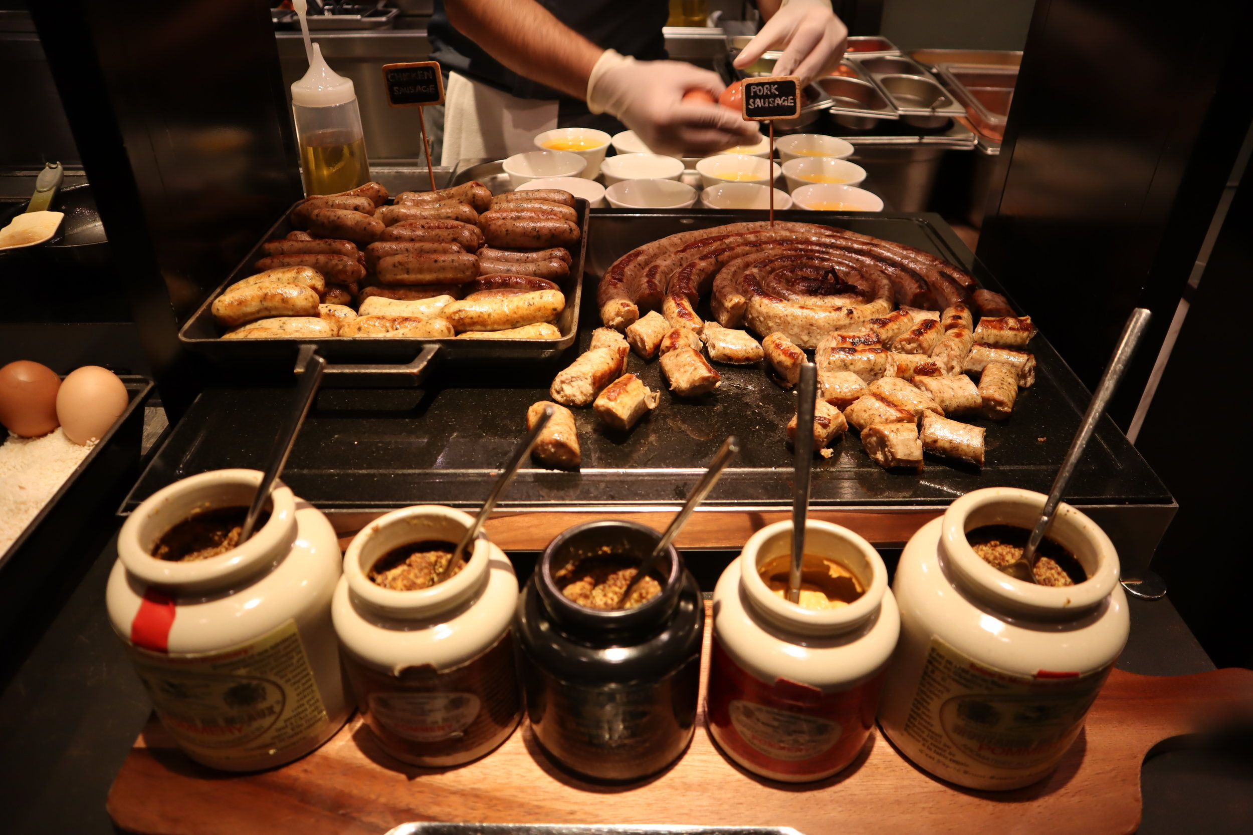 JW Marriott Singapore South Beach – Beach Road Kitchen sausage station