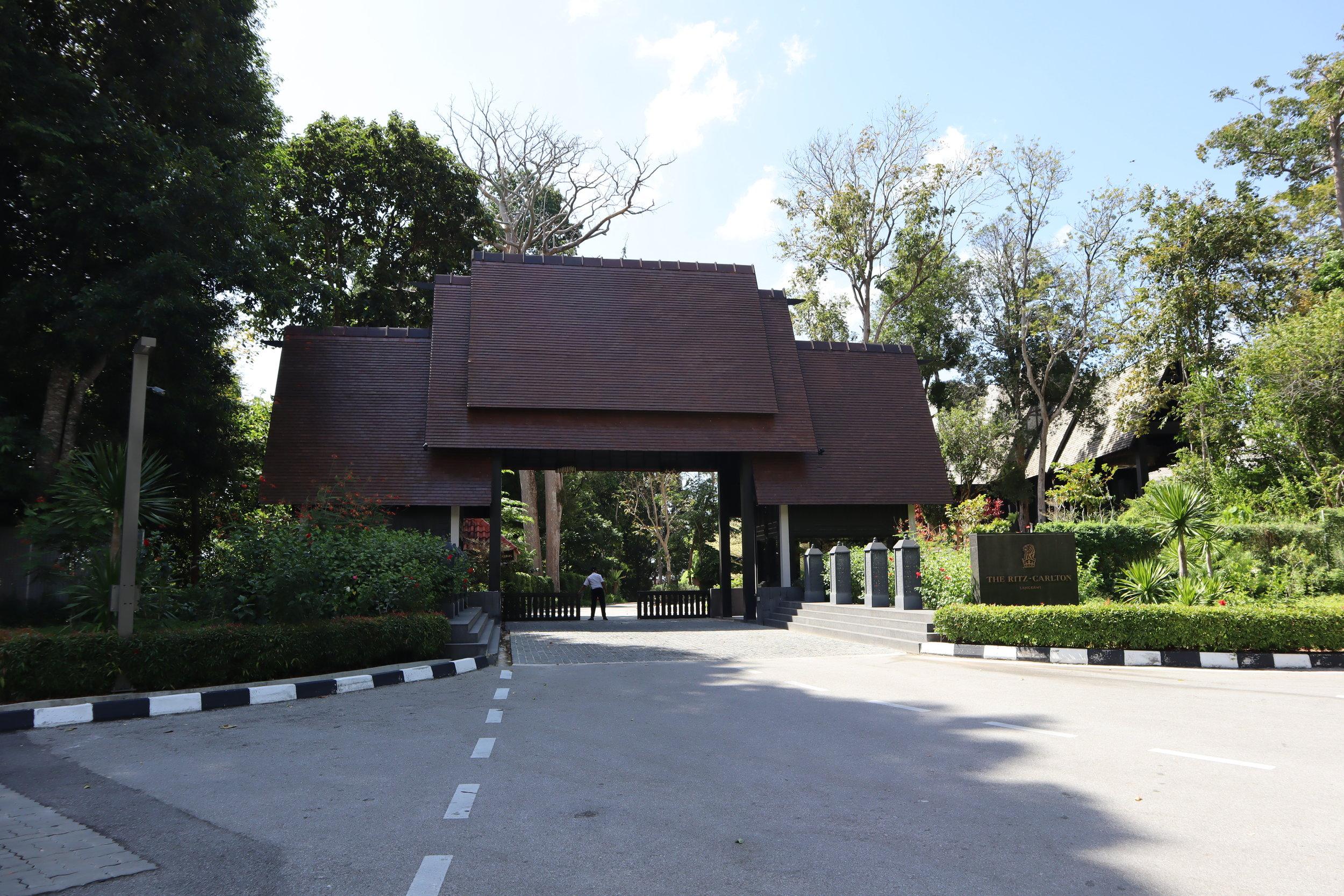 The Ritz-Carlton, Langkawi – Entrance