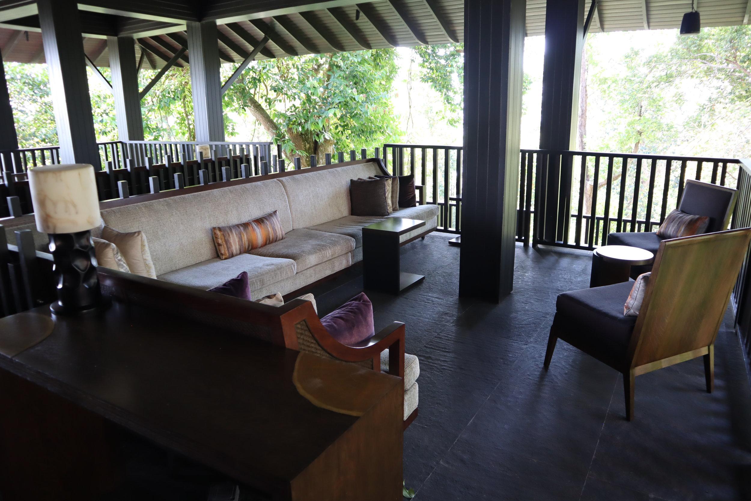 The Ritz-Carlton, Langkawi – Arrival Lodge seating