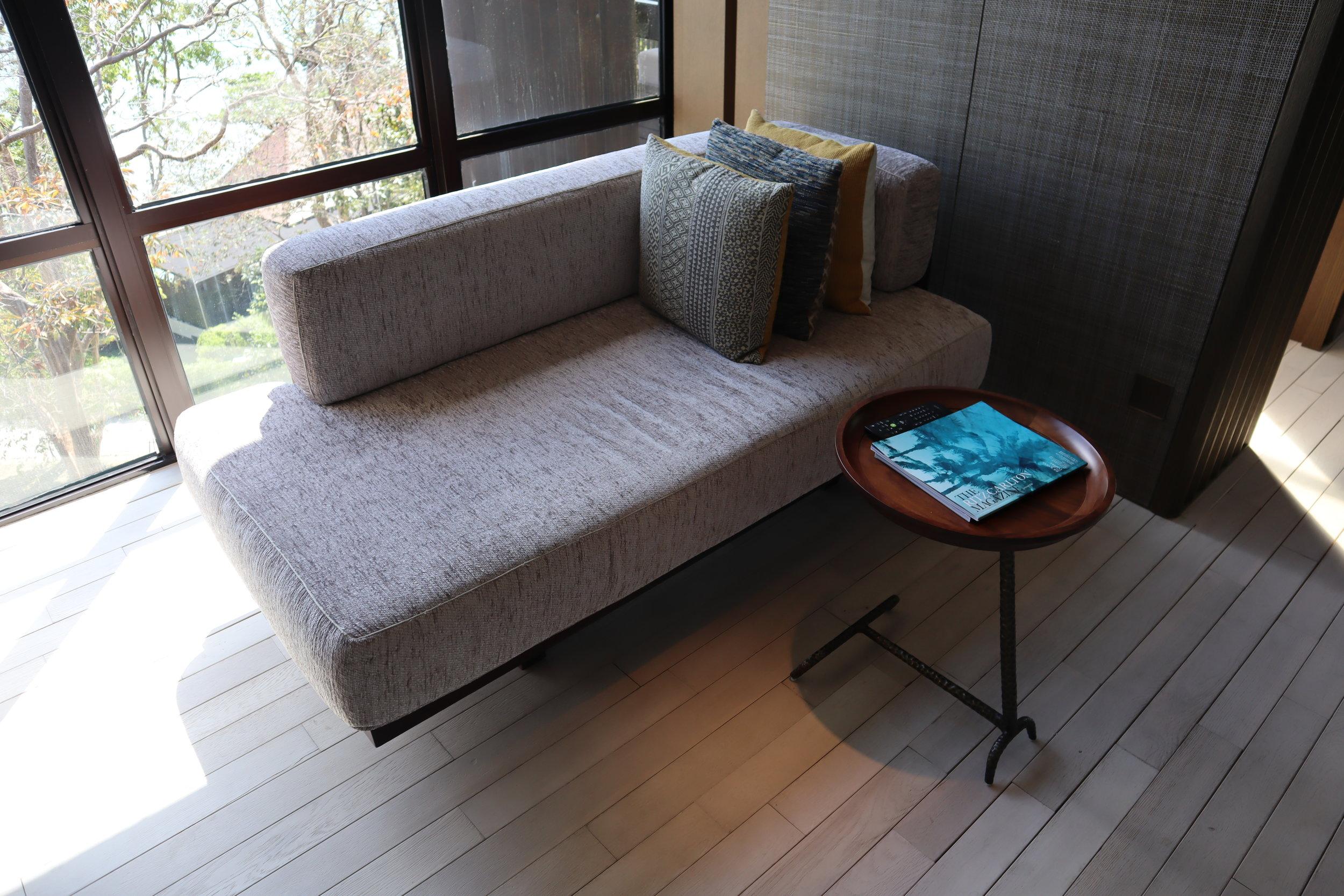 The Ritz-Carlton, Langkawi – Rainforest Junior Suite chaise longue