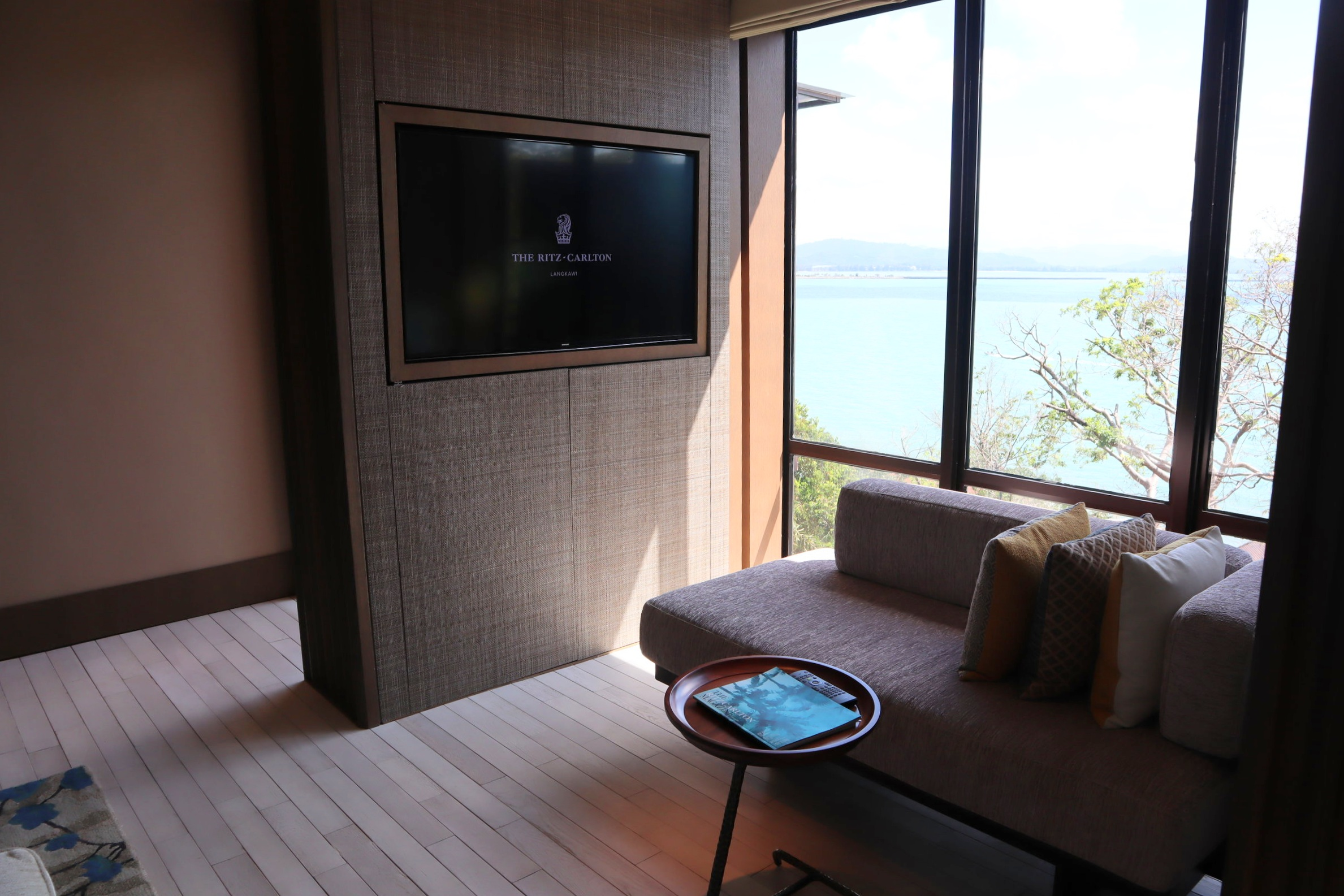 The Ritz-Carlton, Langkawi – Rainforest Junior Suite television