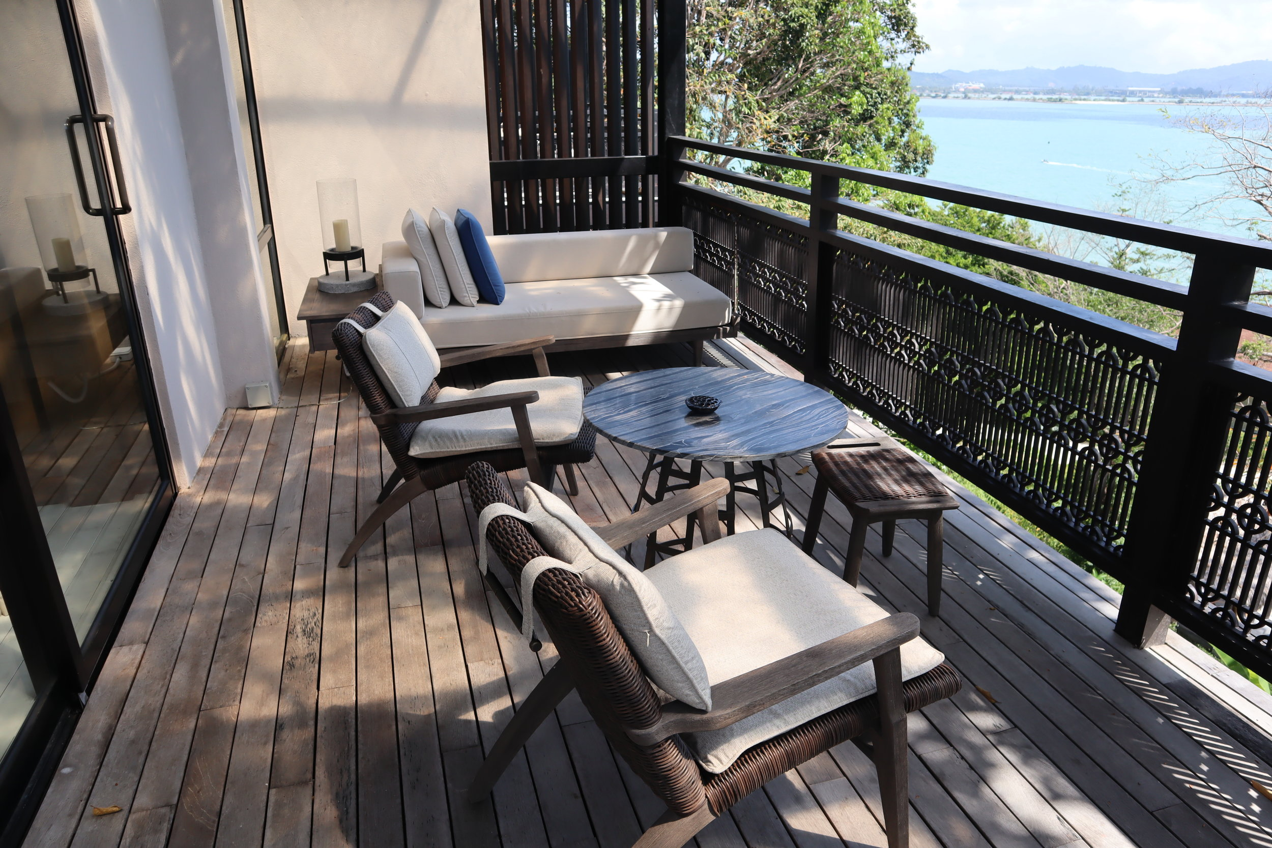 The Ritz-Carlton, Langkawi – Rainforest Junior Suite balcony