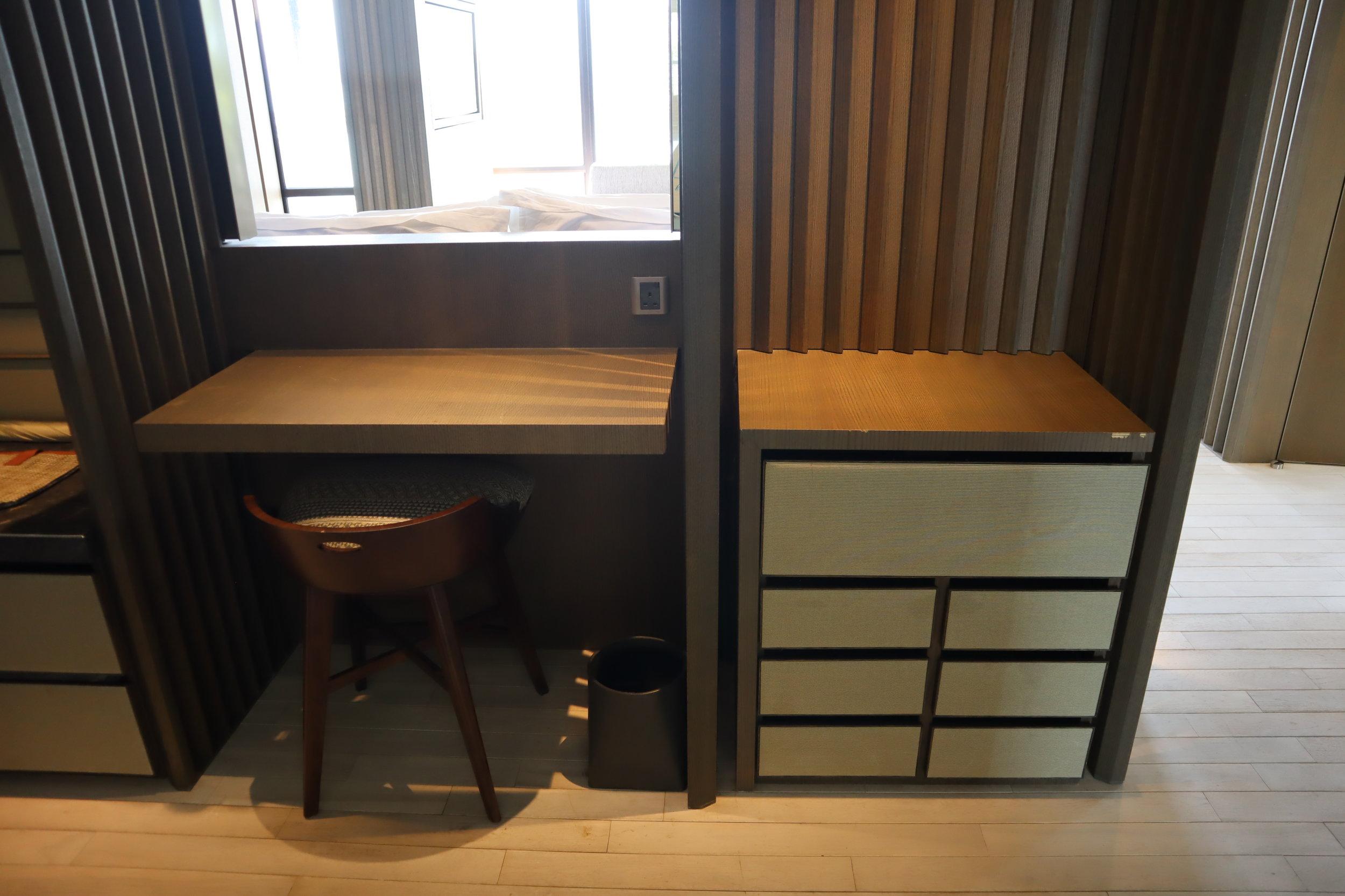 The Ritz-Carlton, Langkawi – Rainforest Junior Suite walk-in closet