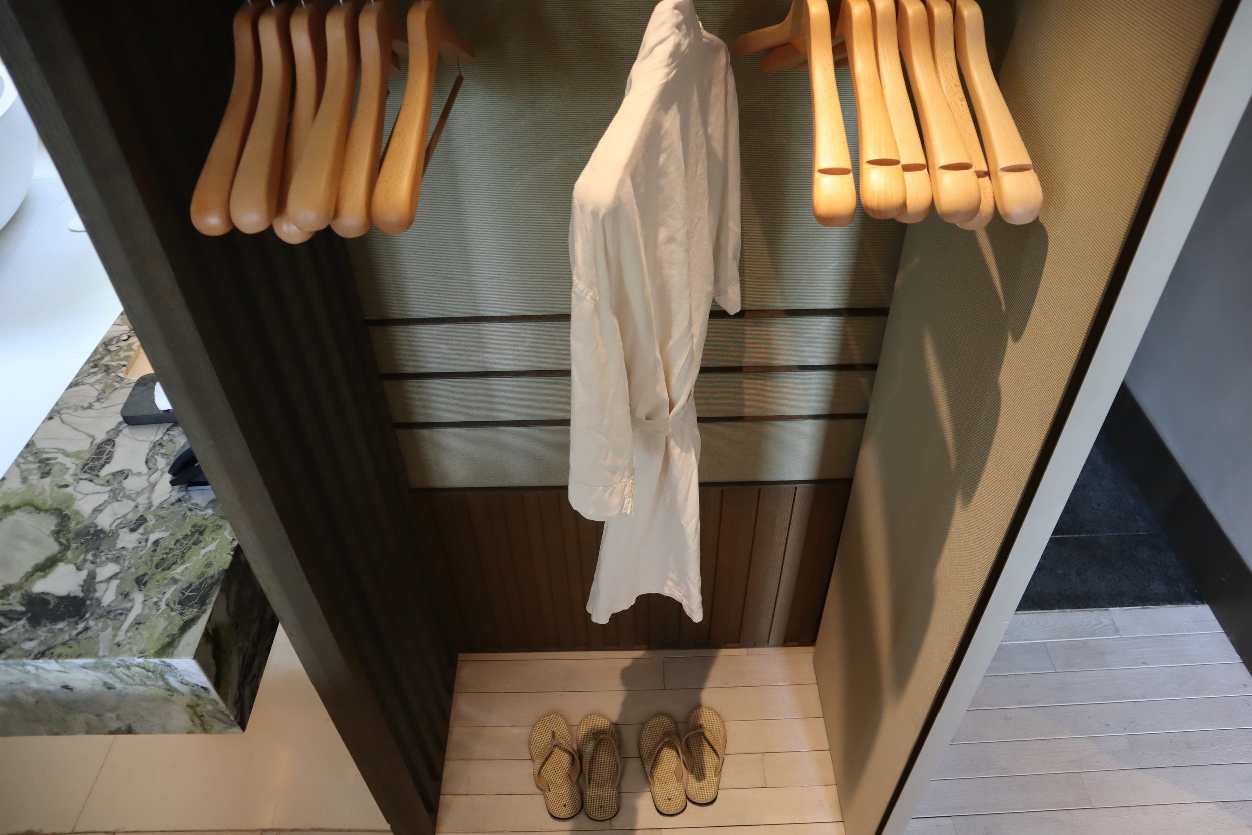 The Ritz-Carlton, Langkawi – Bathrobe and slippers