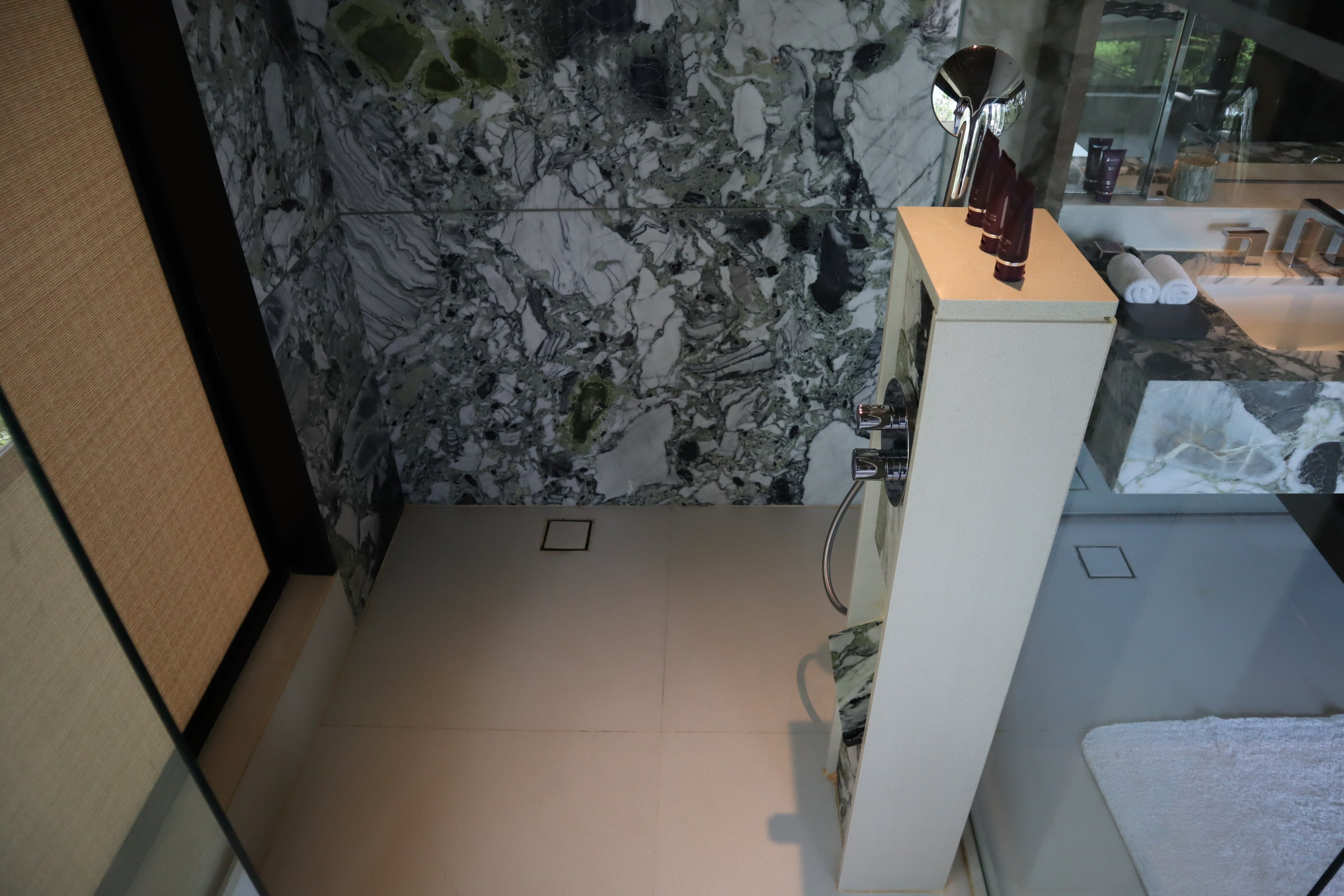 The Ritz-Carlton, Langkawi – Rainforest Junior Suite shower