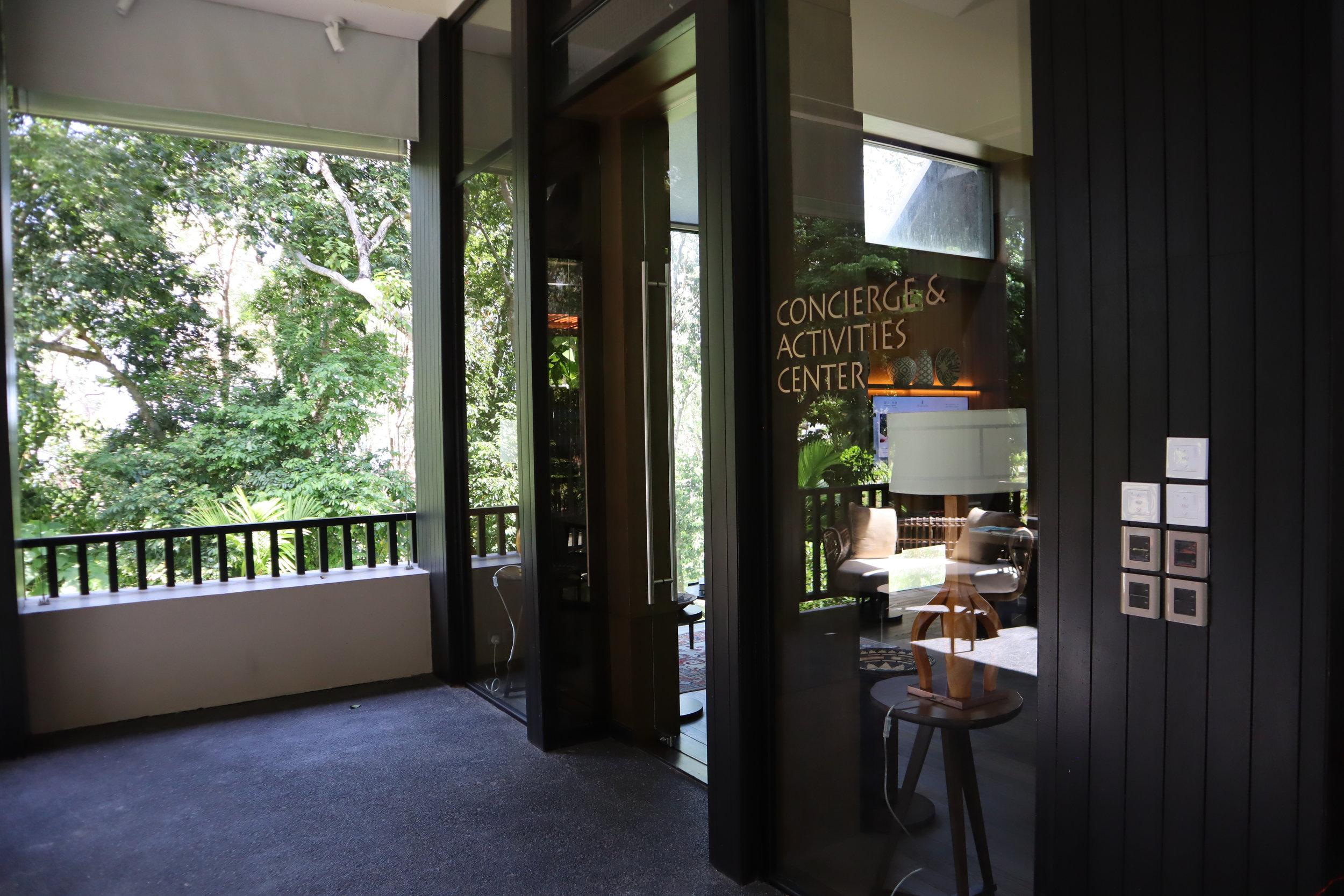The Ritz-Carlton, Langkawi – Concierge & Activities Center