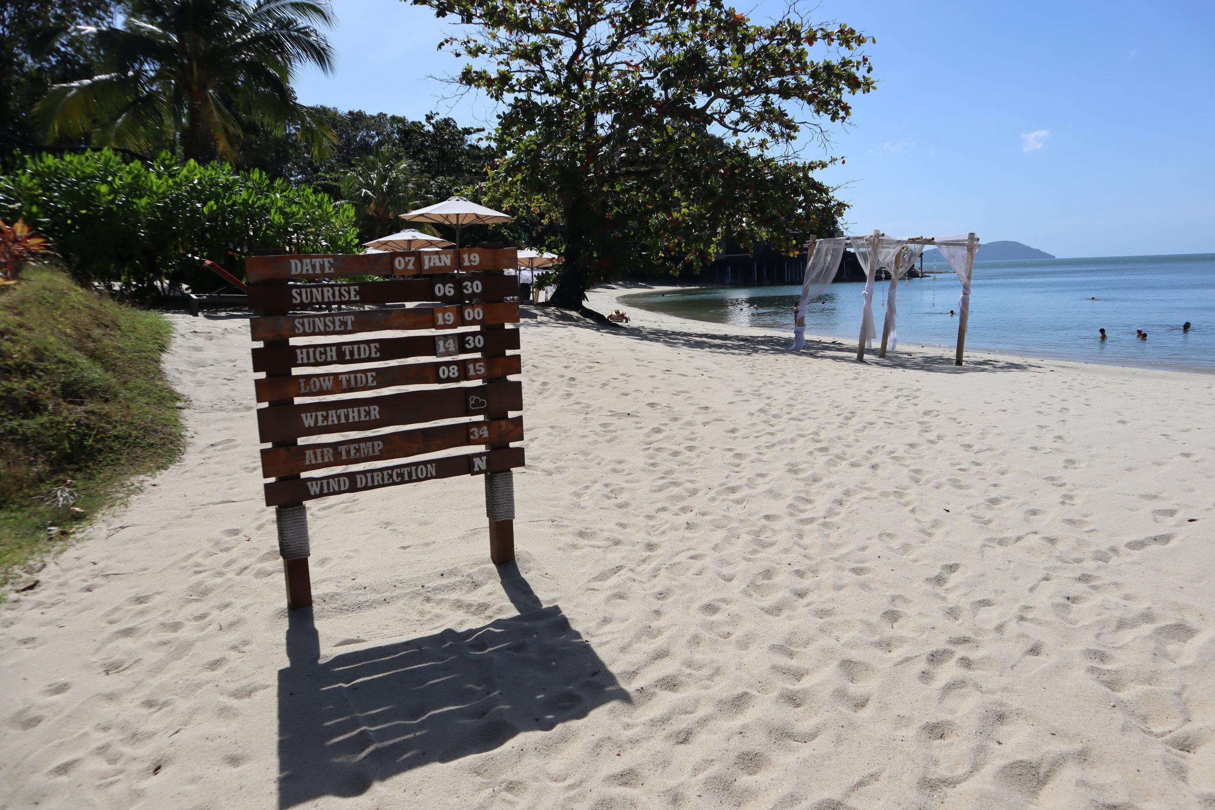 The Ritz-Carlton, Langkawi – Beach