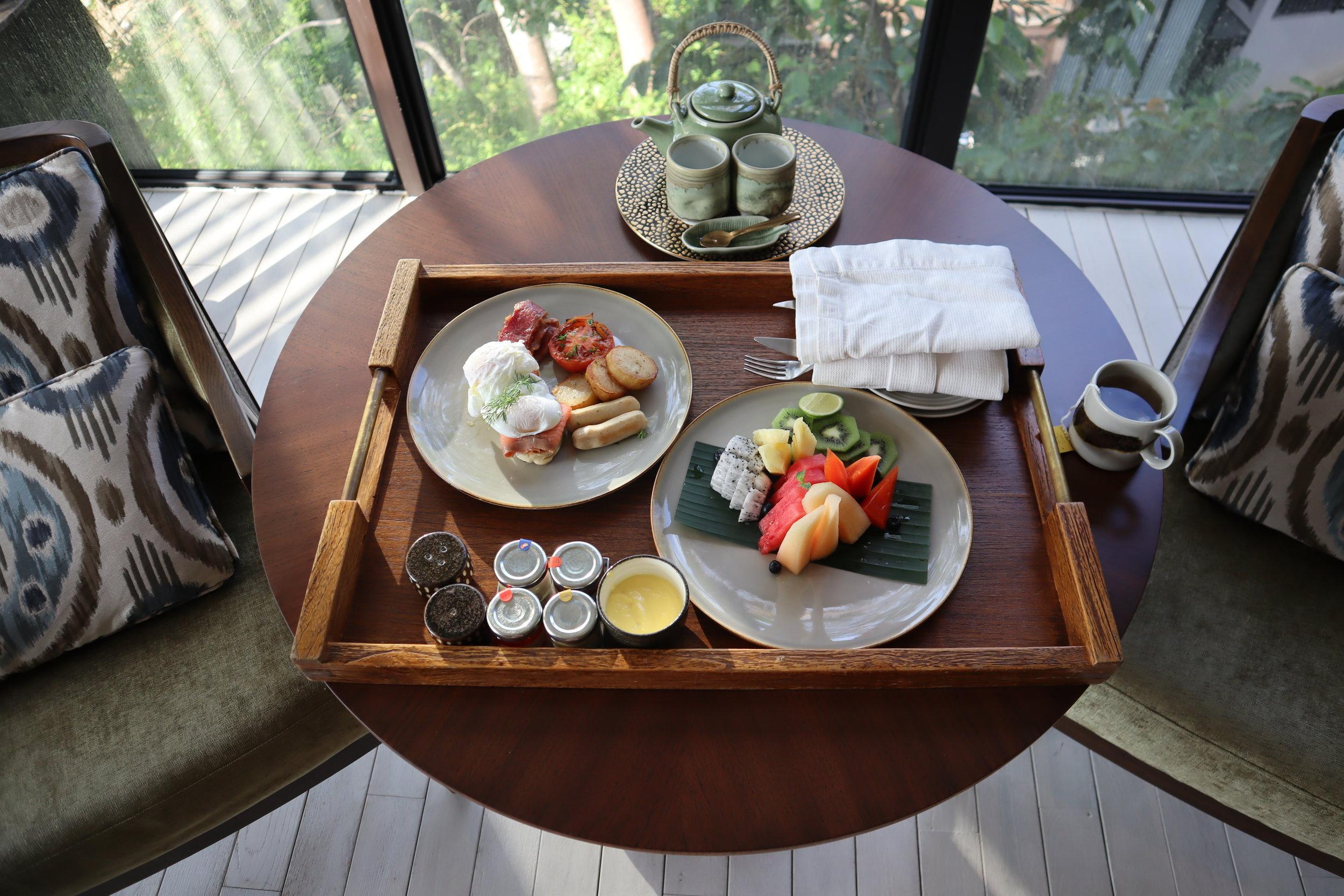 The Ritz-Carlton, Langkawi – In-room breakfast