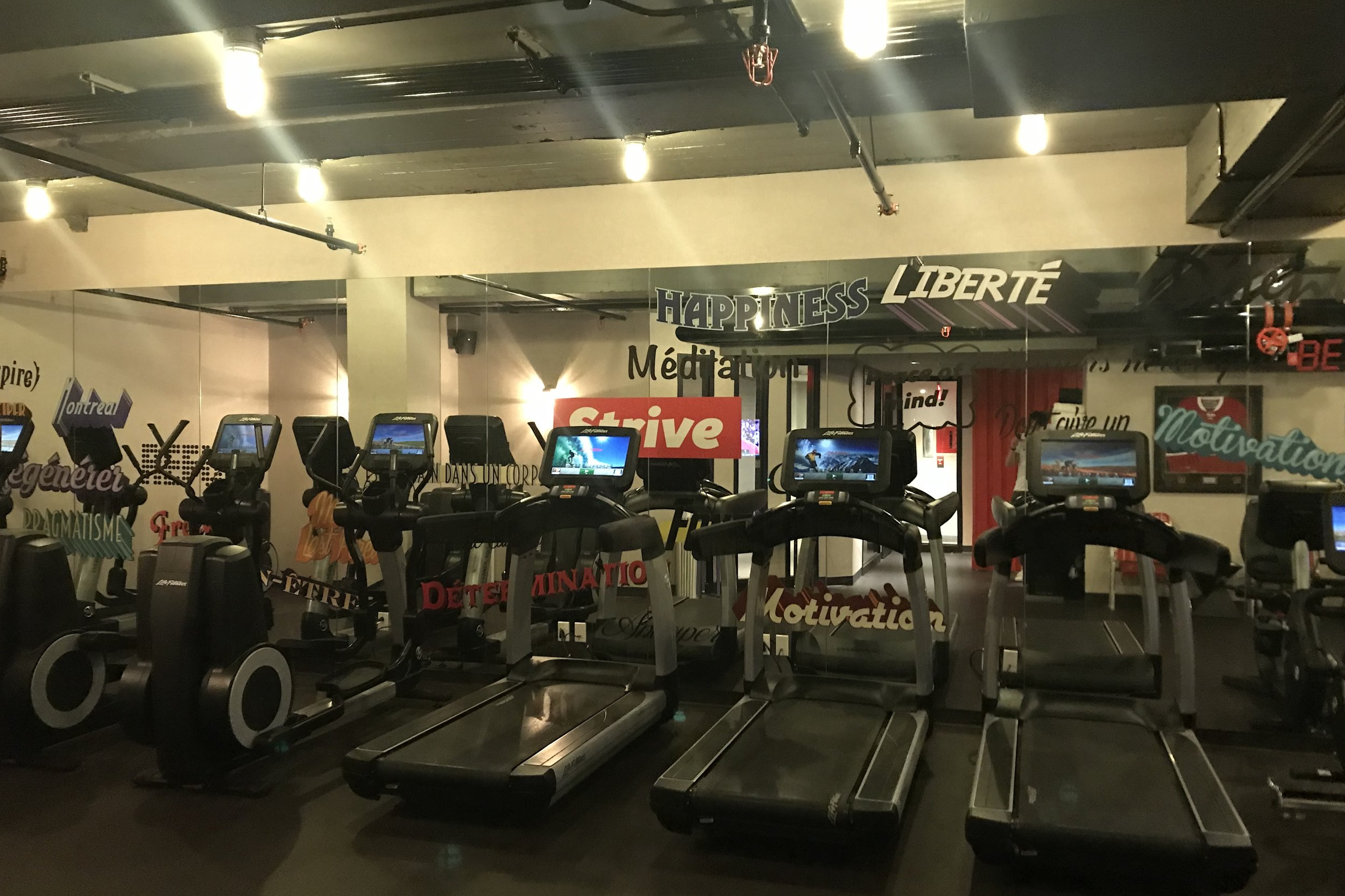 Renaissance Montreal Downtown – Fitness centre