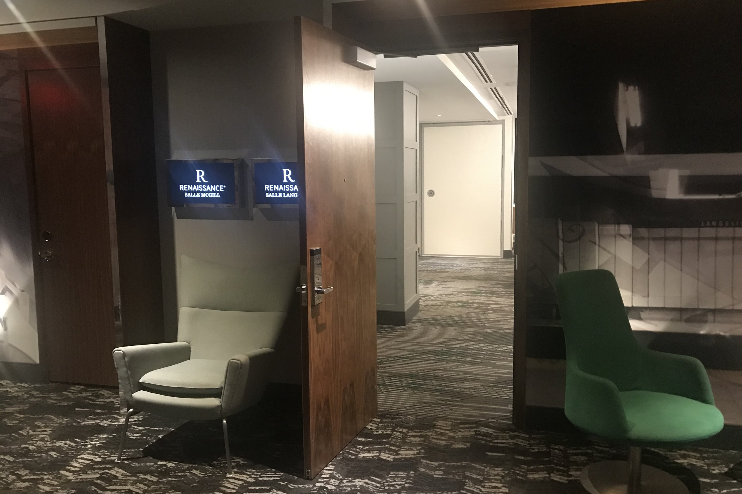 Renaissance Montreal Downtown – Meeting rooms