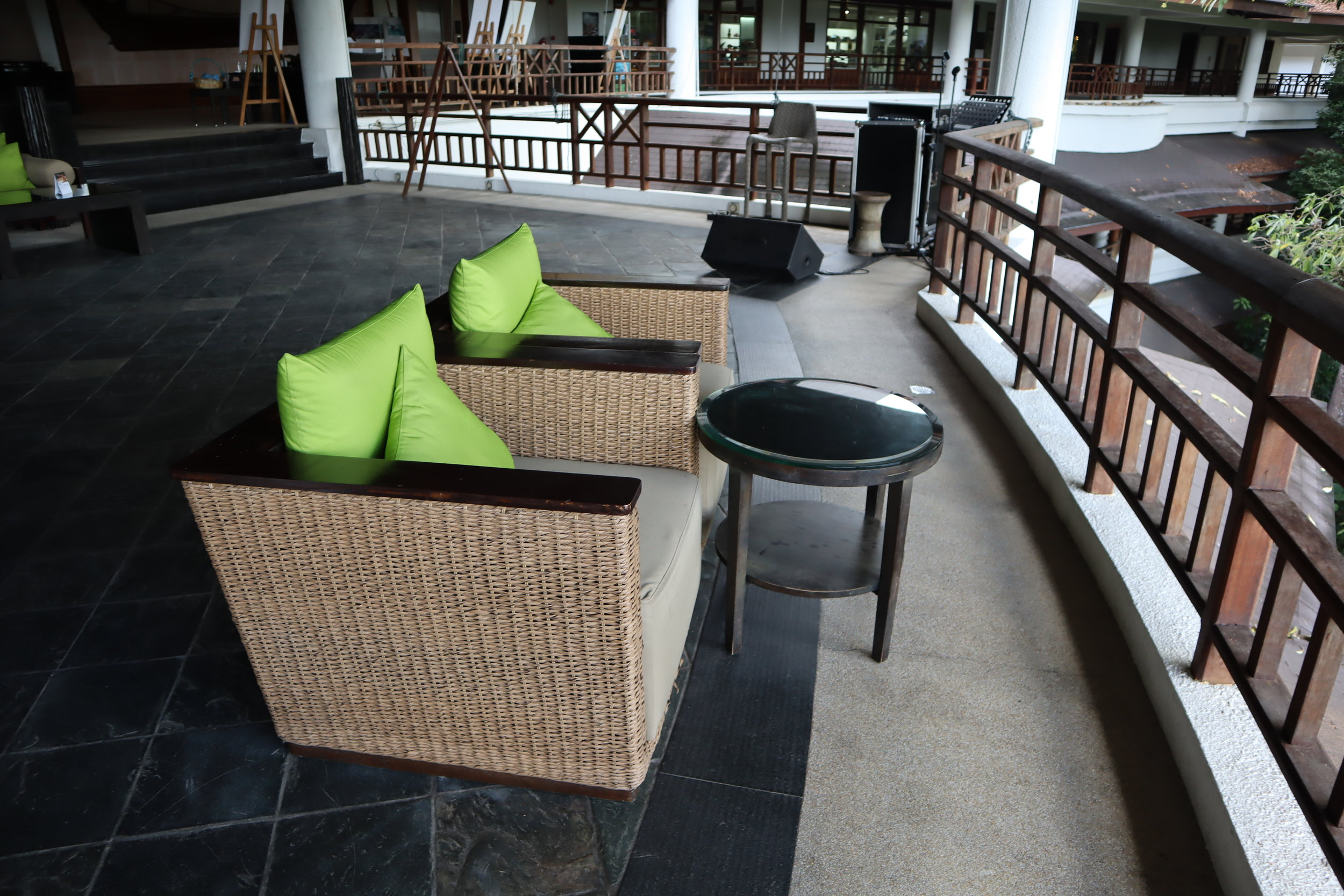 The Andaman Langkawi – Jentayu Lounge waiting area