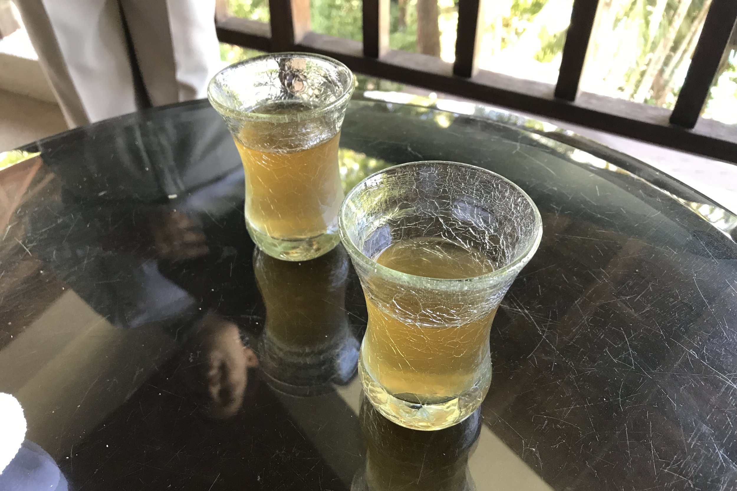 The Andaman Langkawi – Welcome drinks