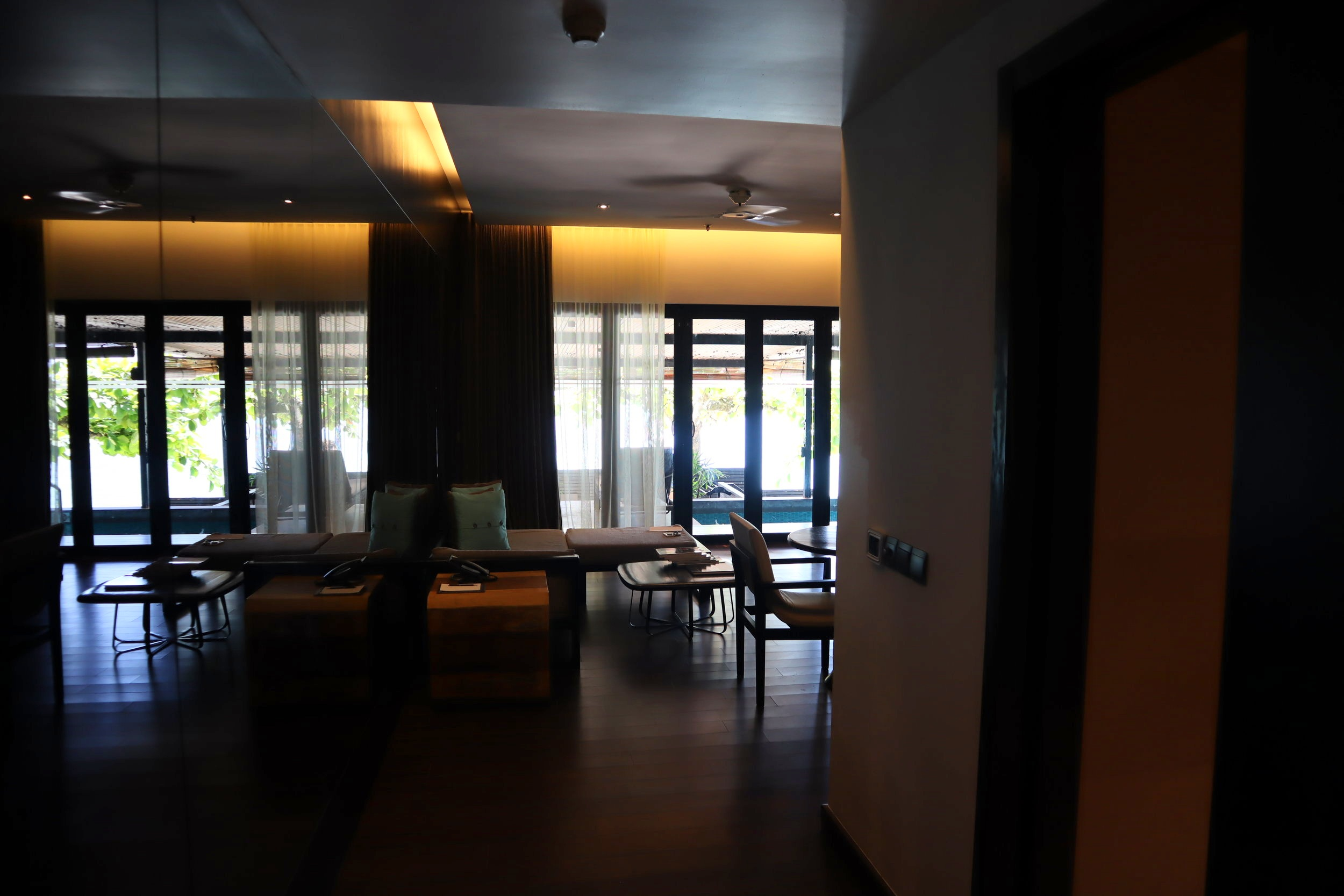 The Andaman Langkawi – Executive Pool Suite foyer