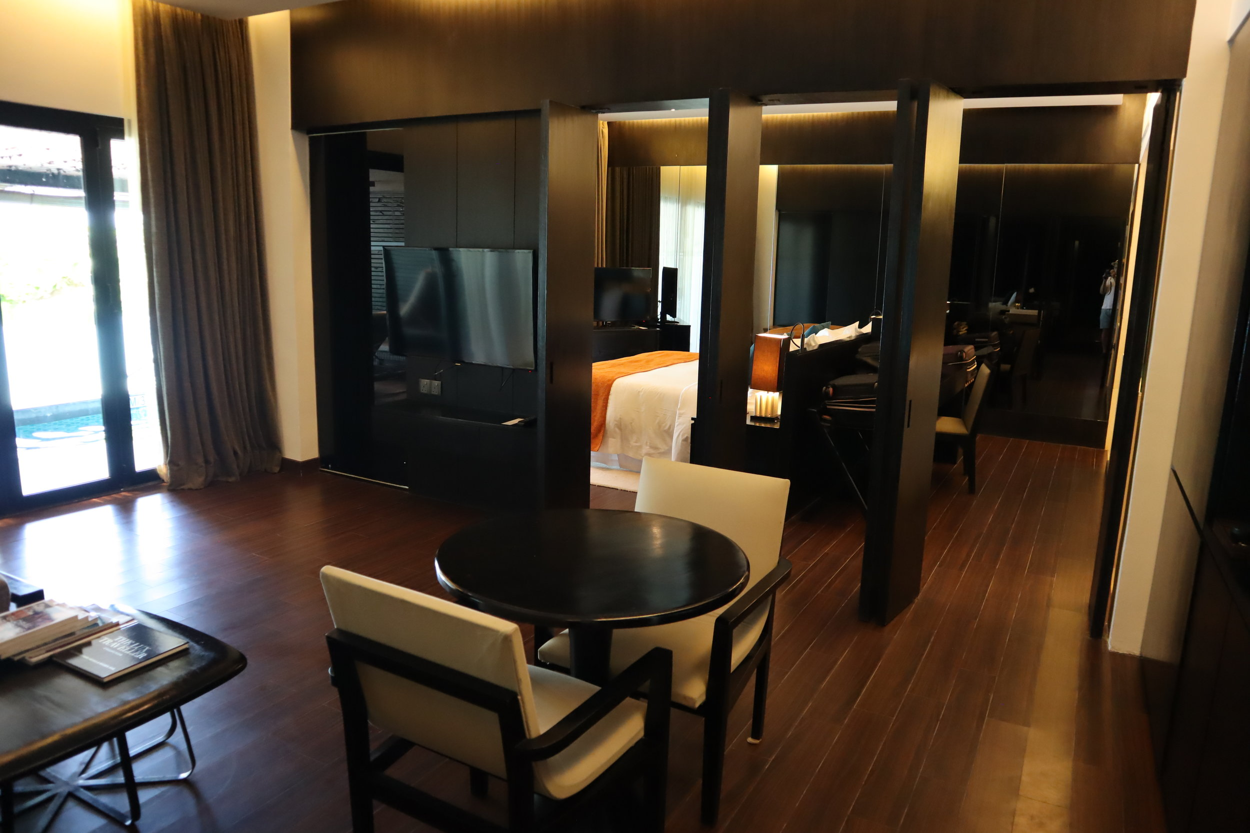 The Andaman Langkawi – Executive Pool Suite dining area