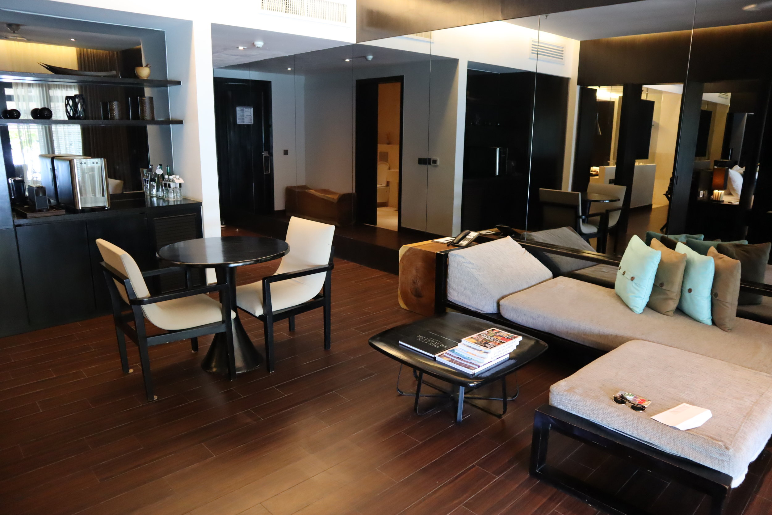 The Andaman Langkawi – Executive Pool Suite living room