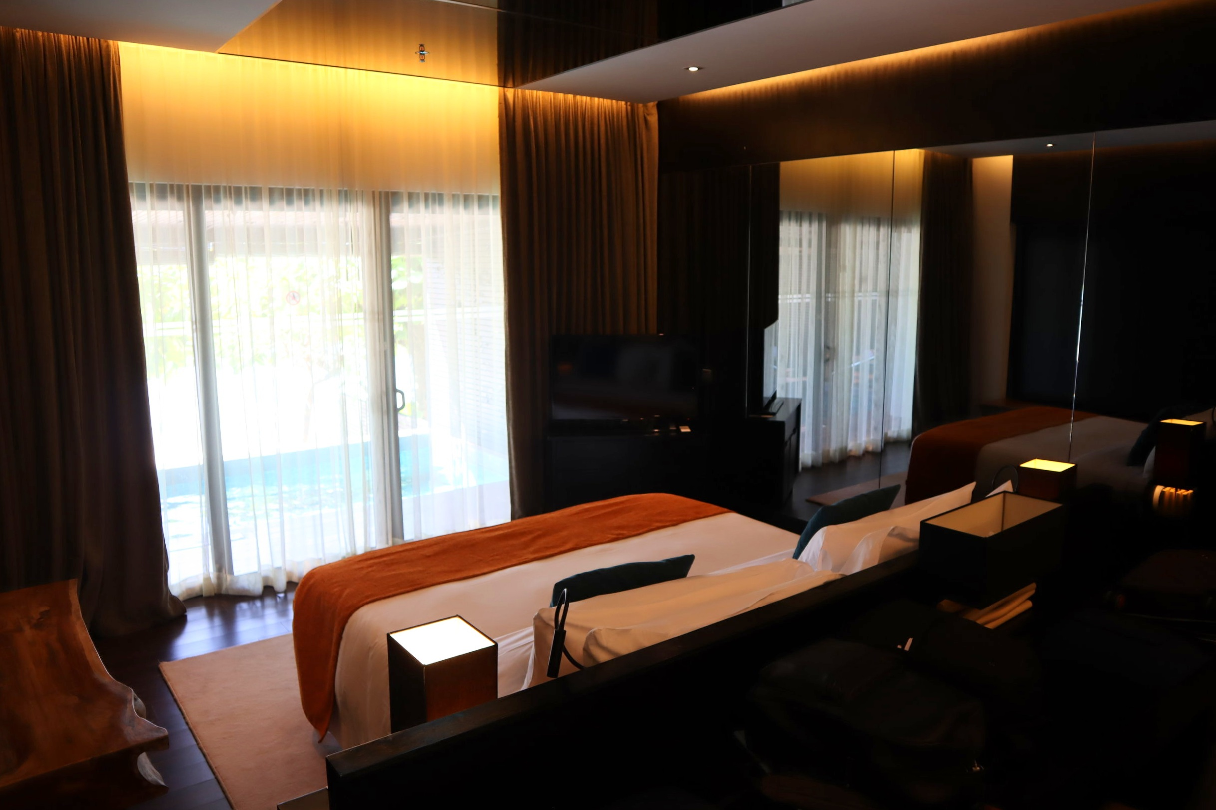 The Andaman Langkawi – Executive Pool Suite bedroom