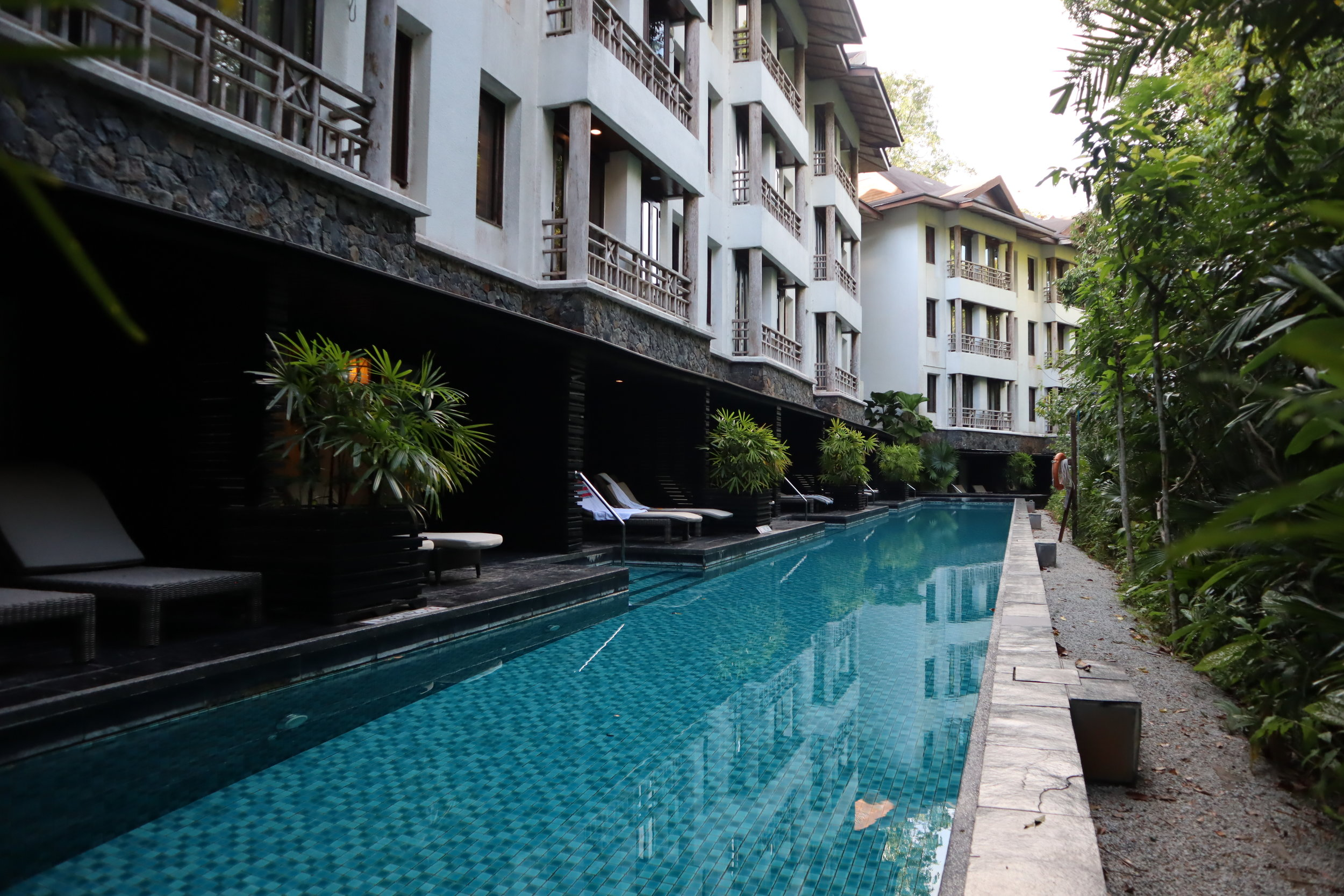 The Andaman Langkawi – Lagoon pool