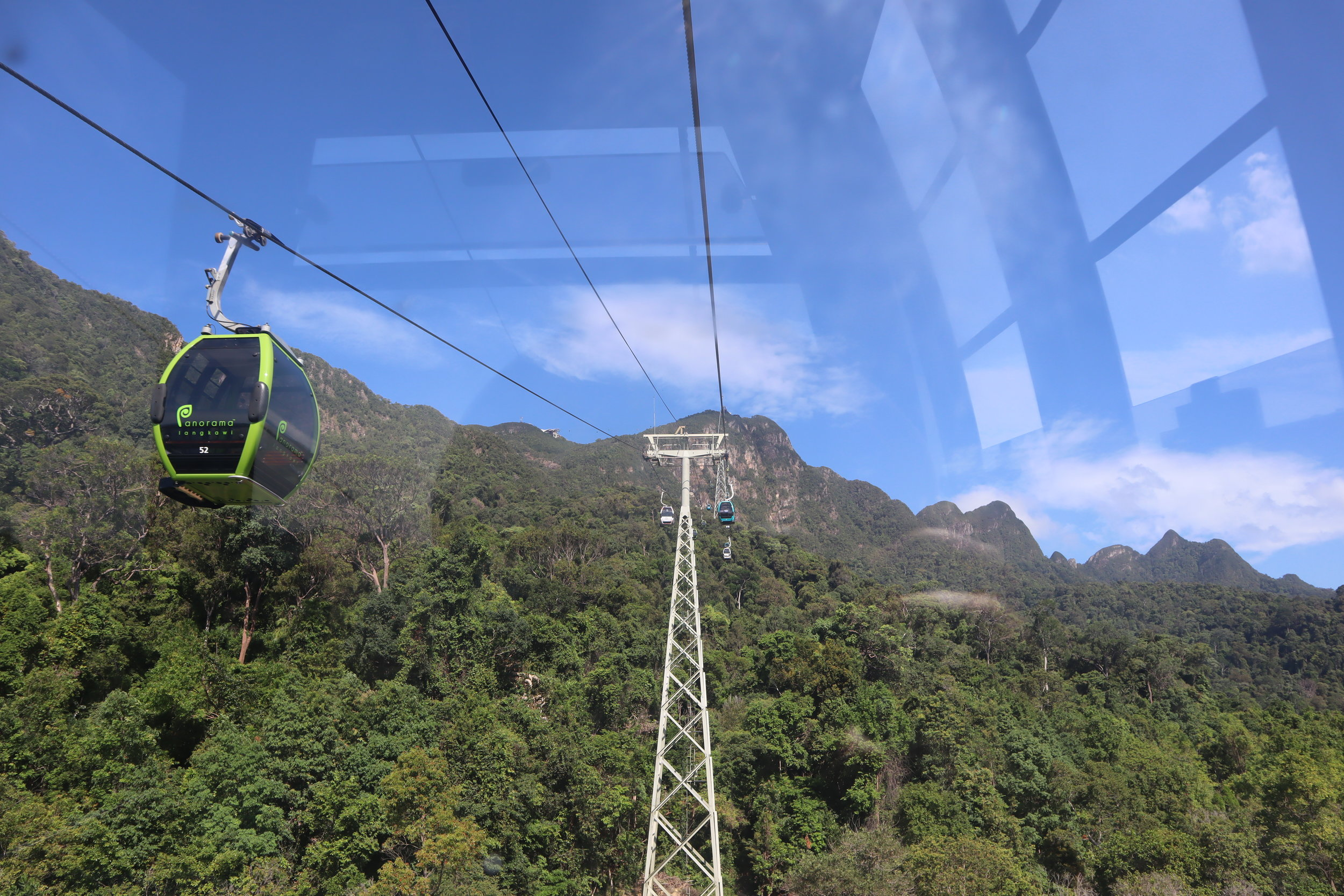 View from the Langkawi Panorama SkyCab