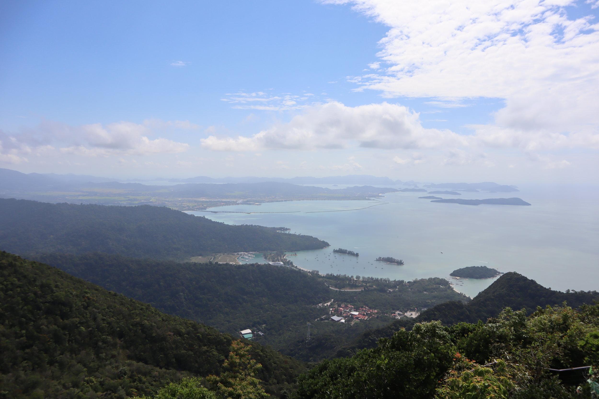 View from Langkawi Sky Bridge