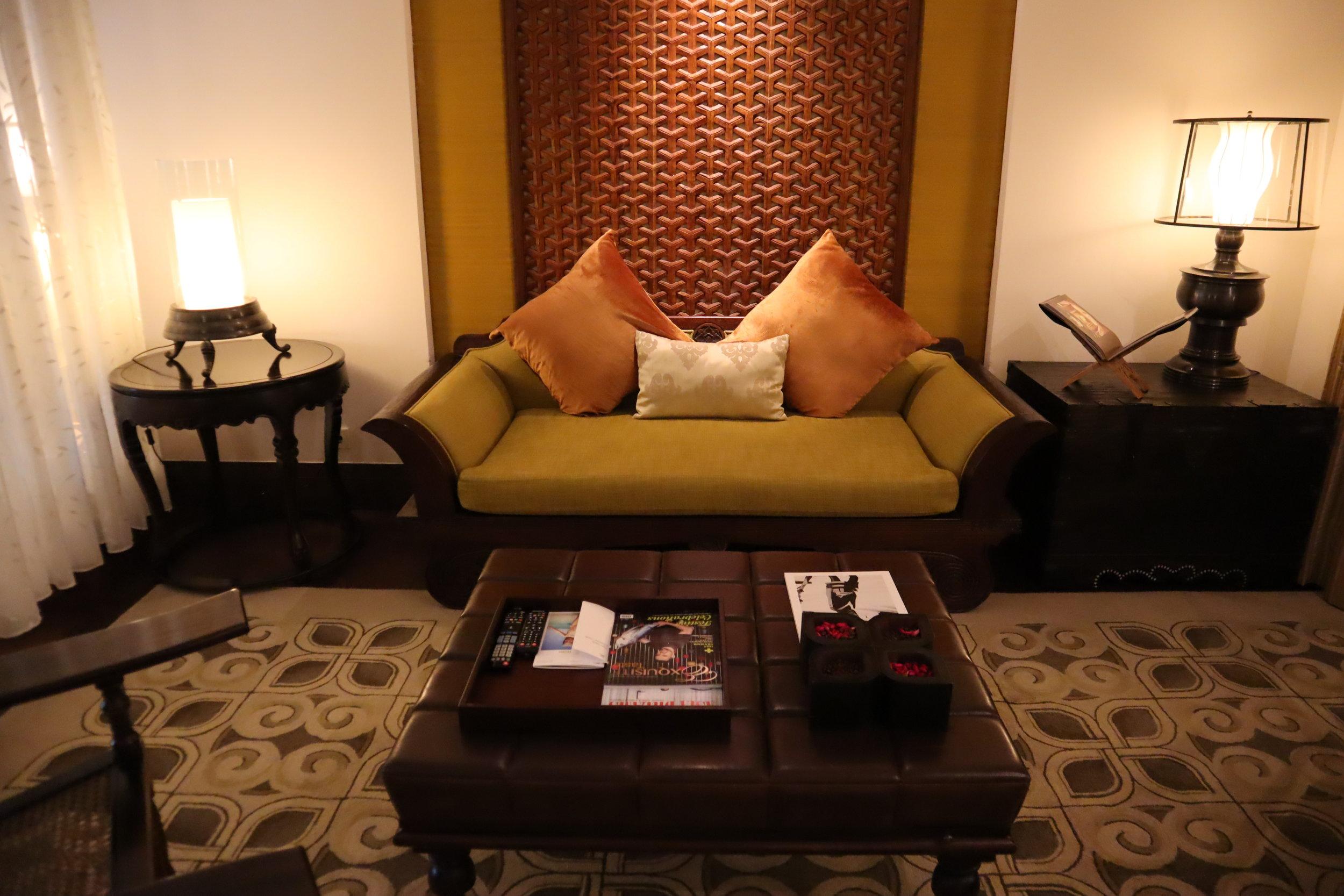 St. Regis Bali – St. Regis Pool Suite living room