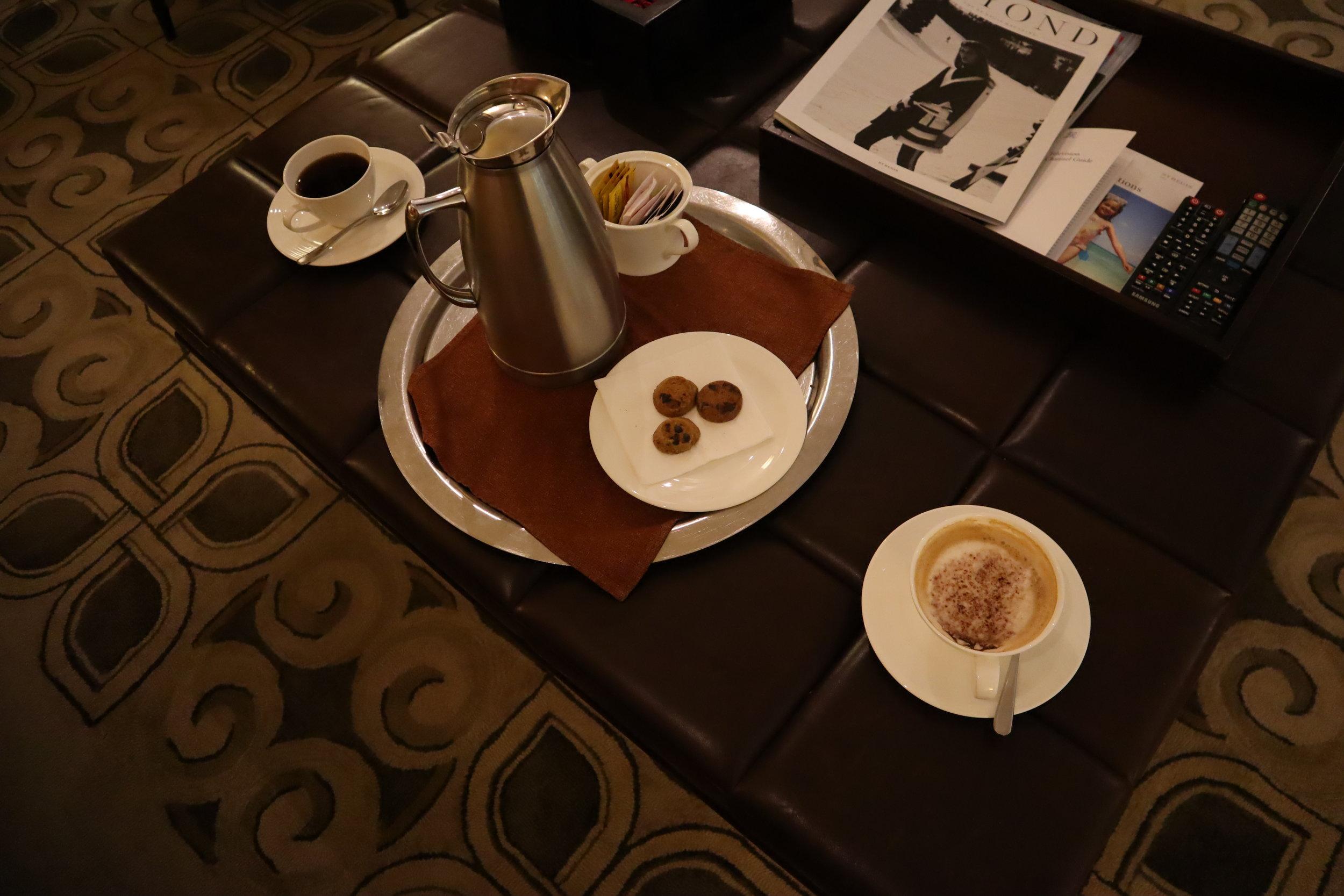 St. Regis Bali – Coffee via butler service