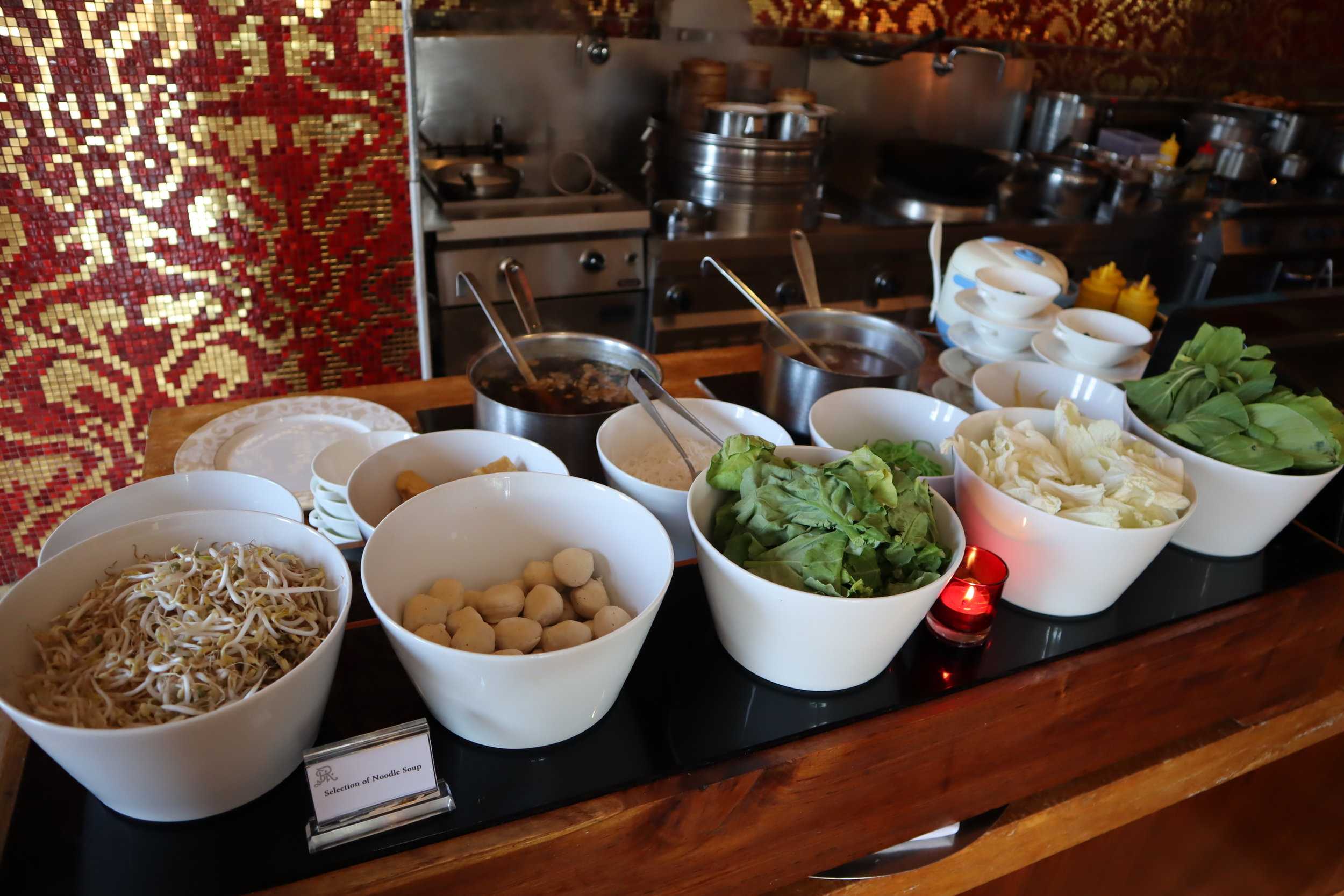 St. Regis Bali – Noodle station