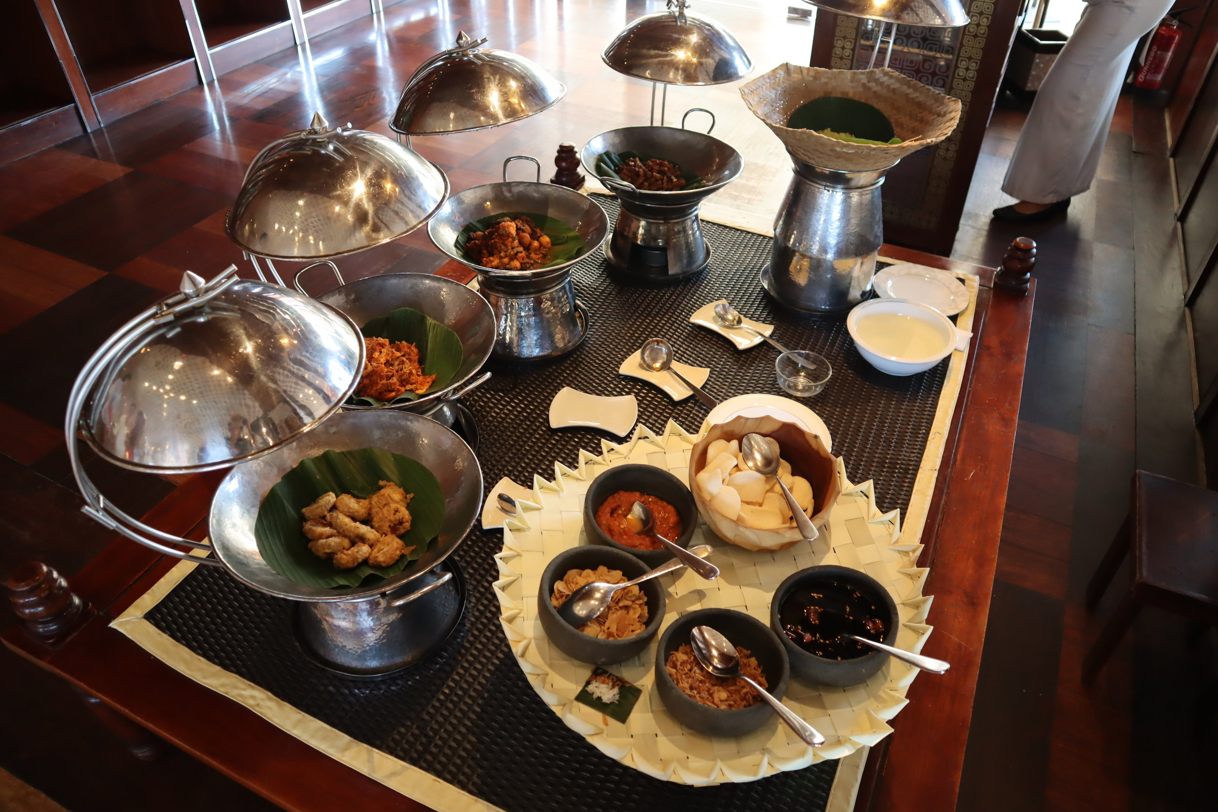St. Regis Bali – Traditional Indonesian spread