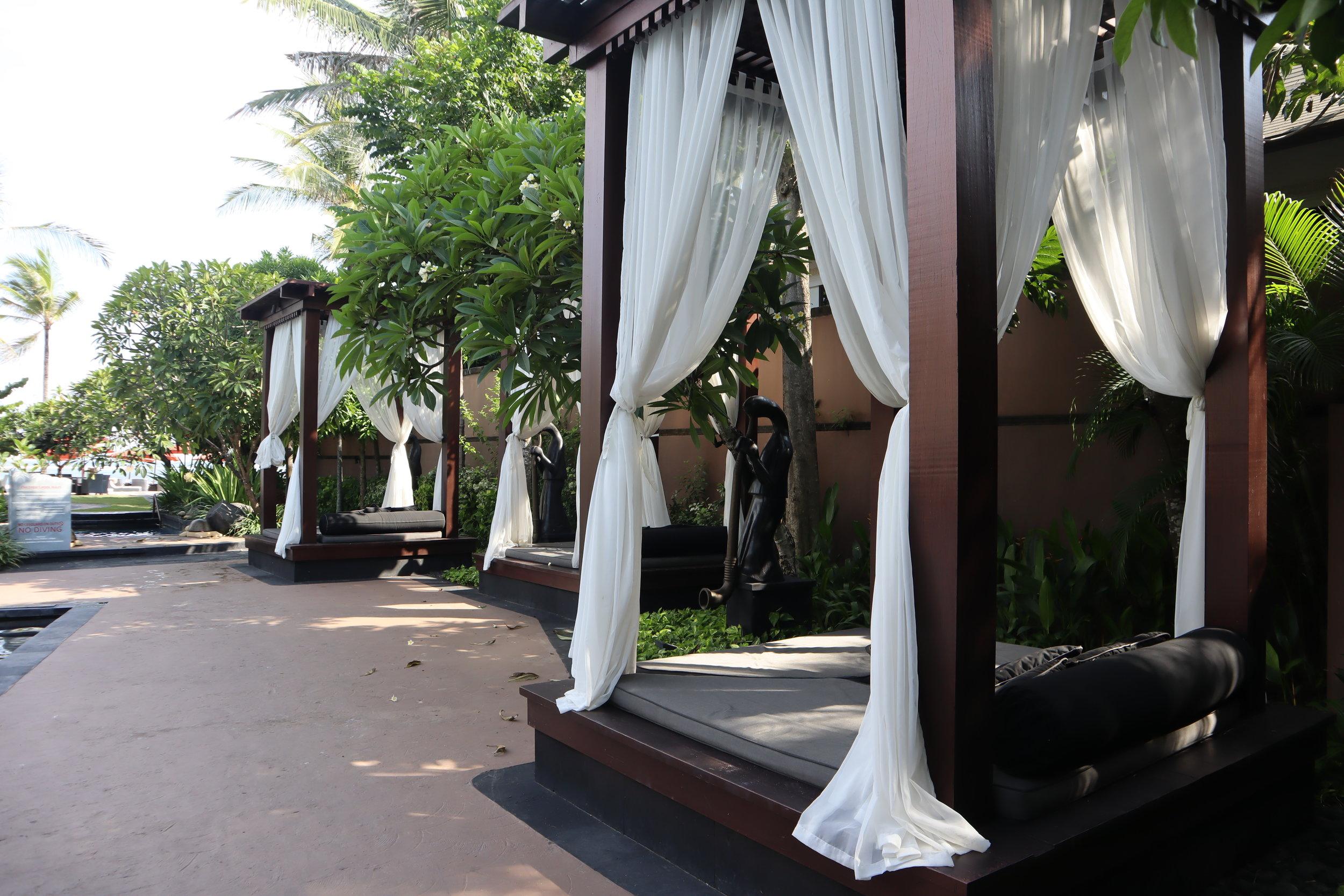 St. Regis Bali – Poolside cabanas