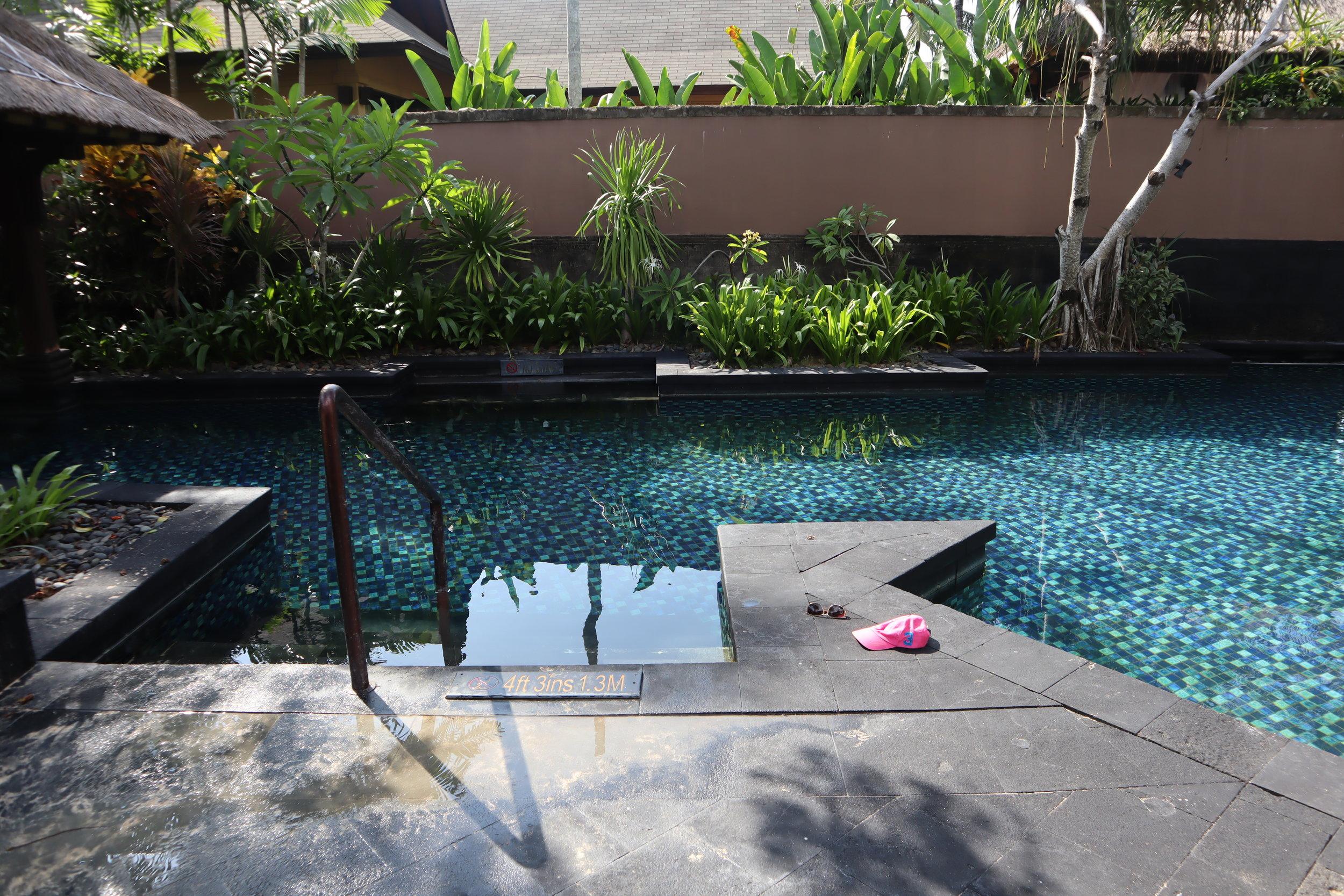 St. Regis Bali – Access to saltwater lagoon
