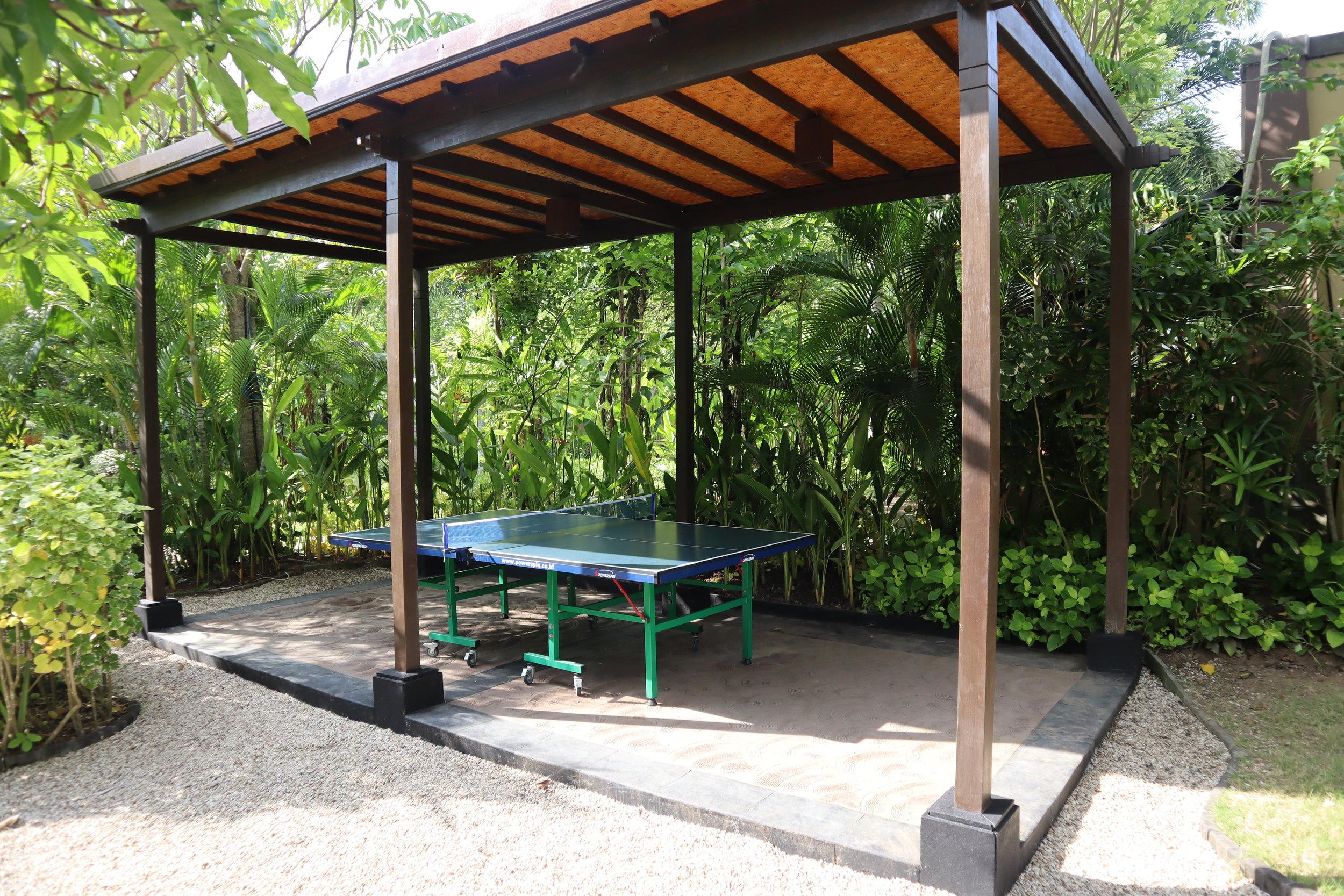 St. Regis Bali – Ping-pong table