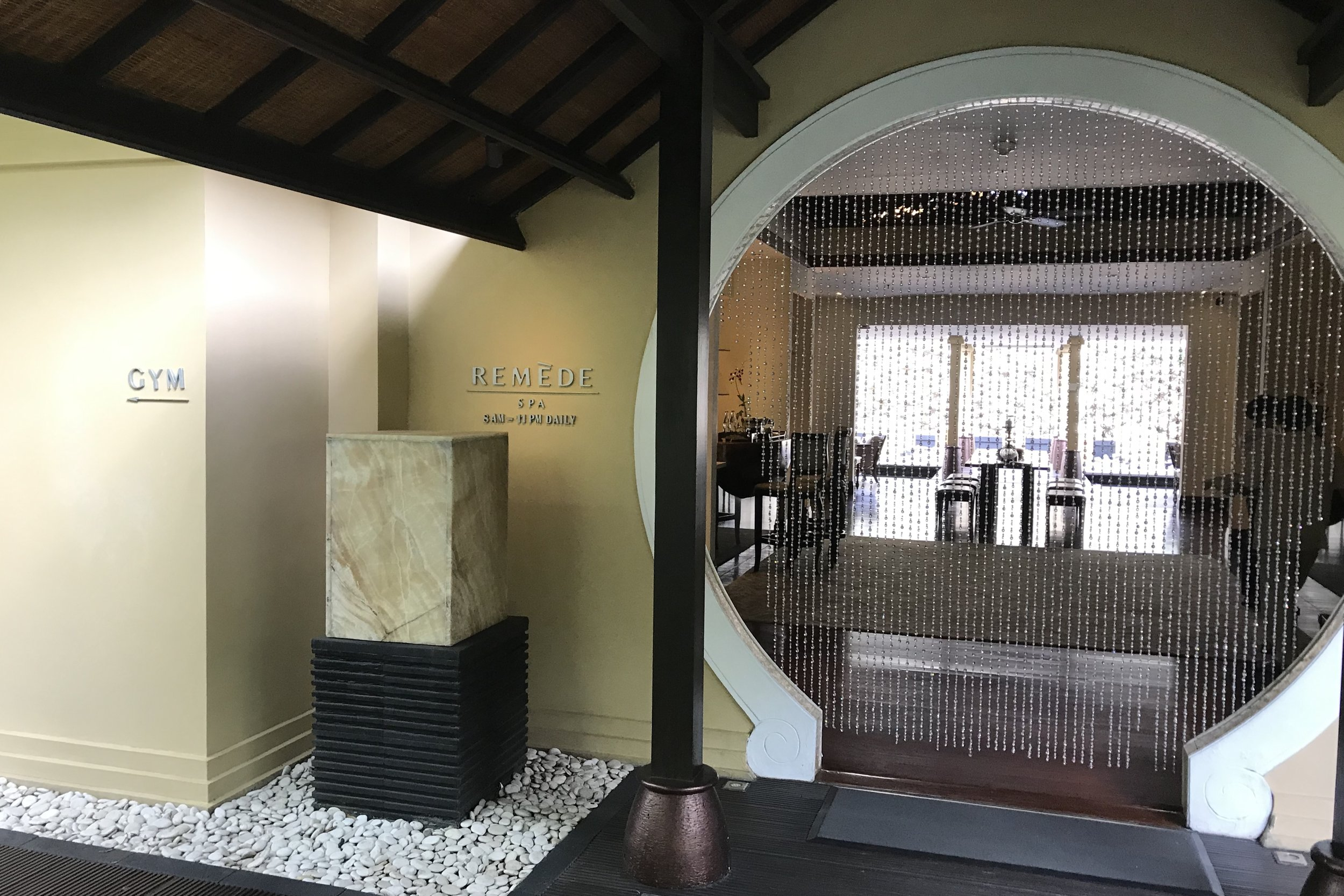St. Regis Bali – Remede Spa and fitness centre