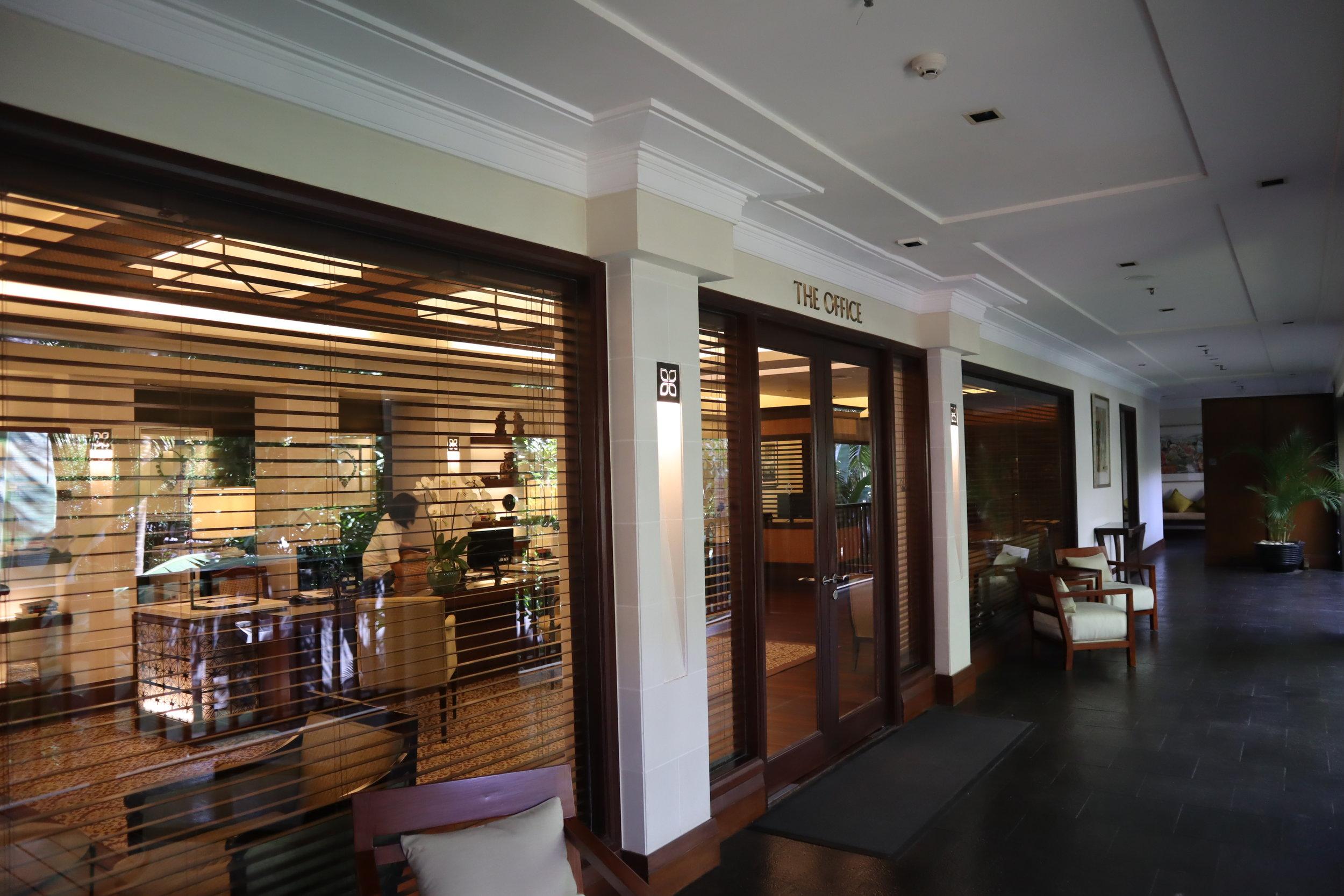 St. Regis Bali – The Office