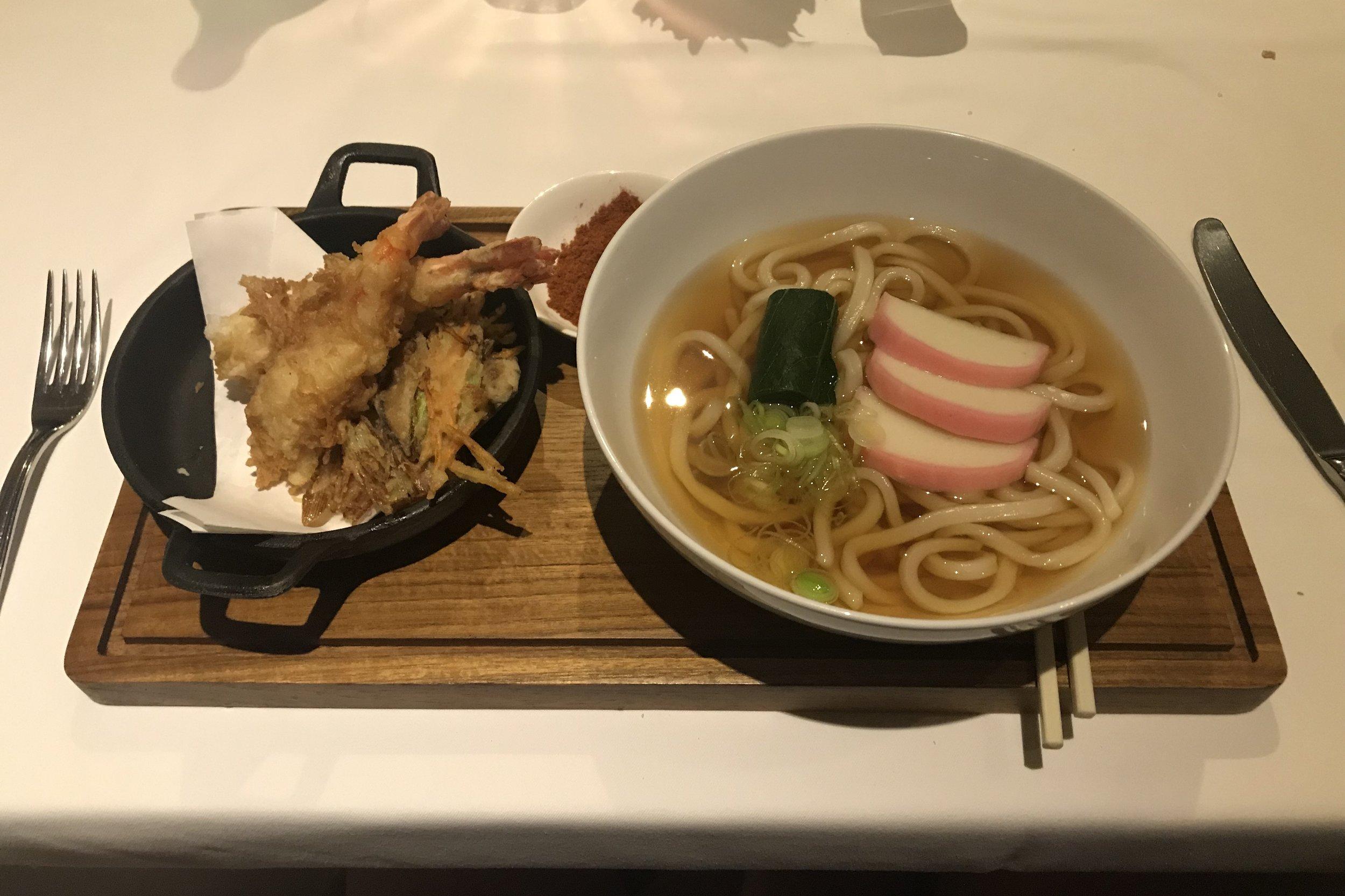 St. Regis Bali – Gourmand Deli tempura udon