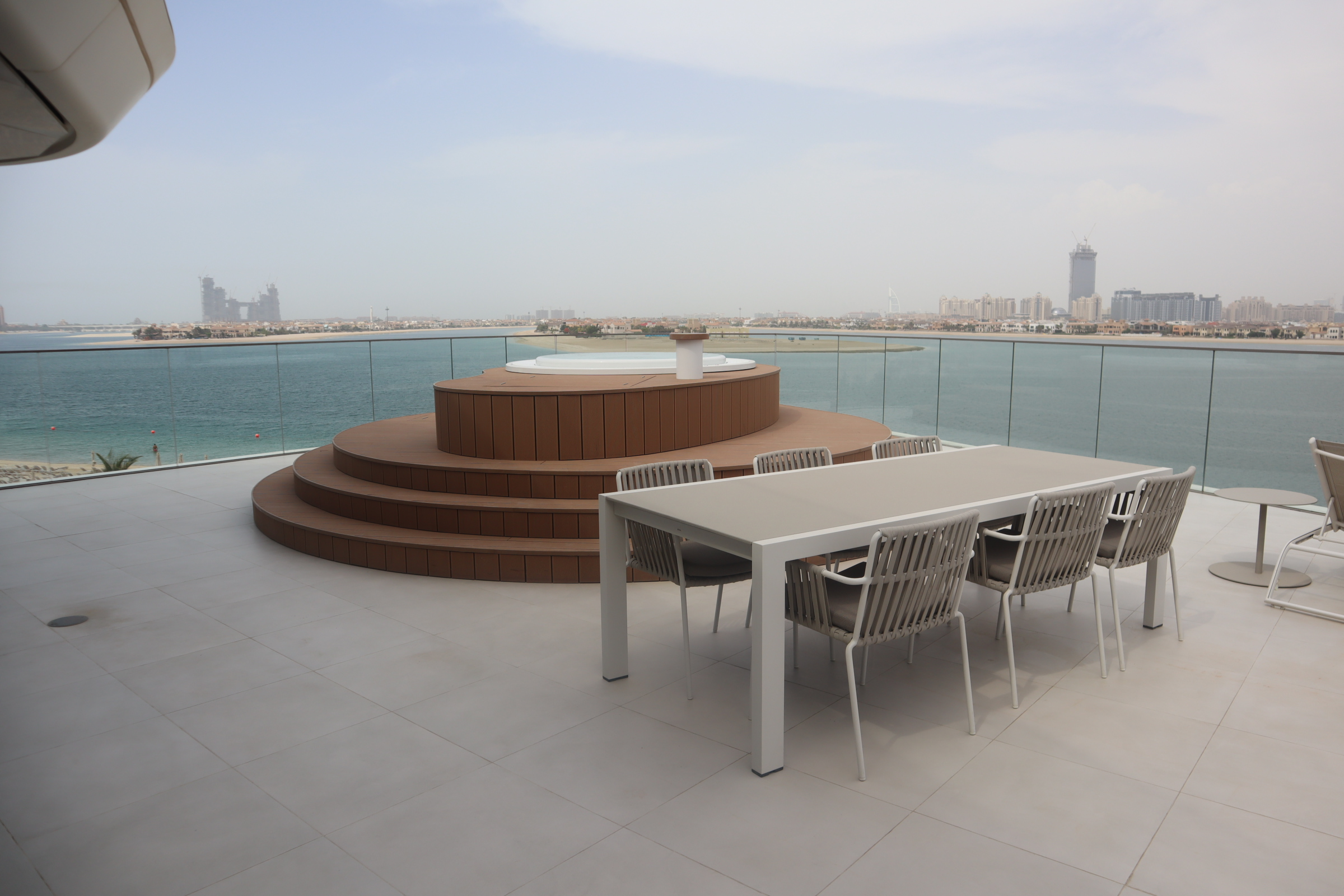 Marvelous Suite private patio, W Dubai The Palm
