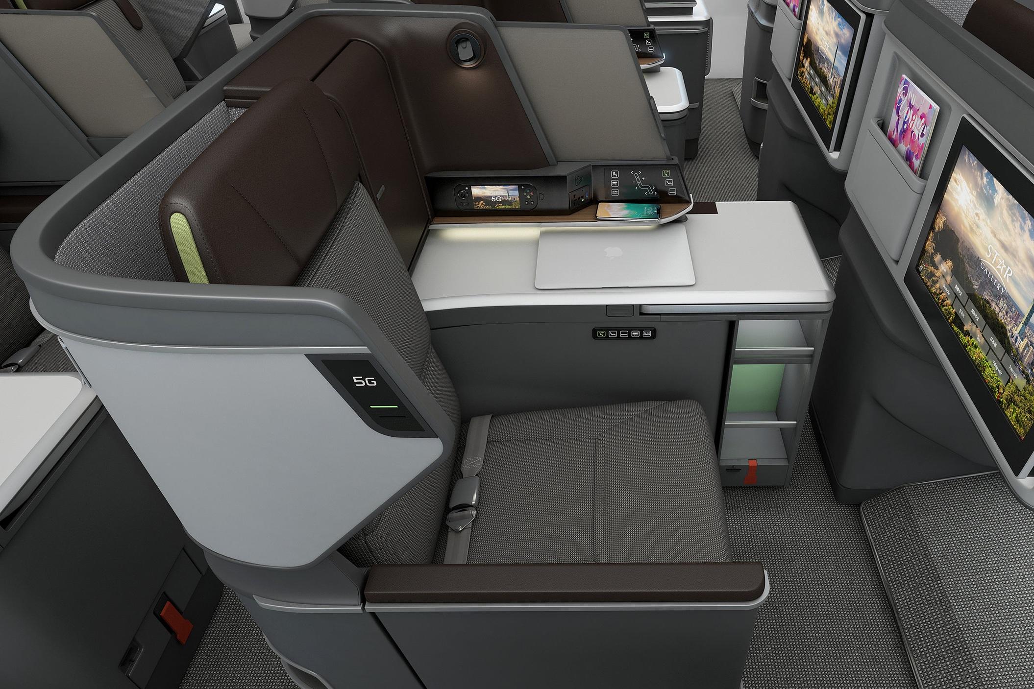 EVA Air 787 business class