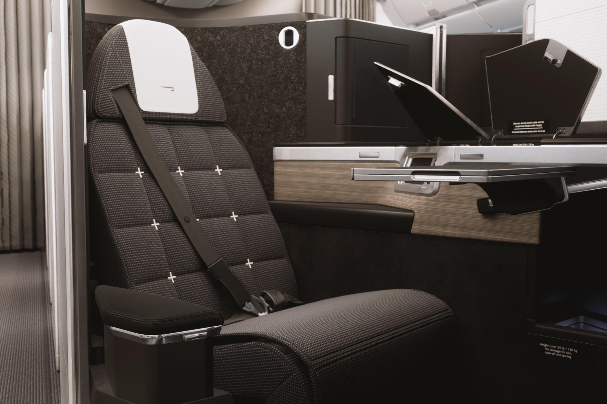 British Airways A350 Club Suite