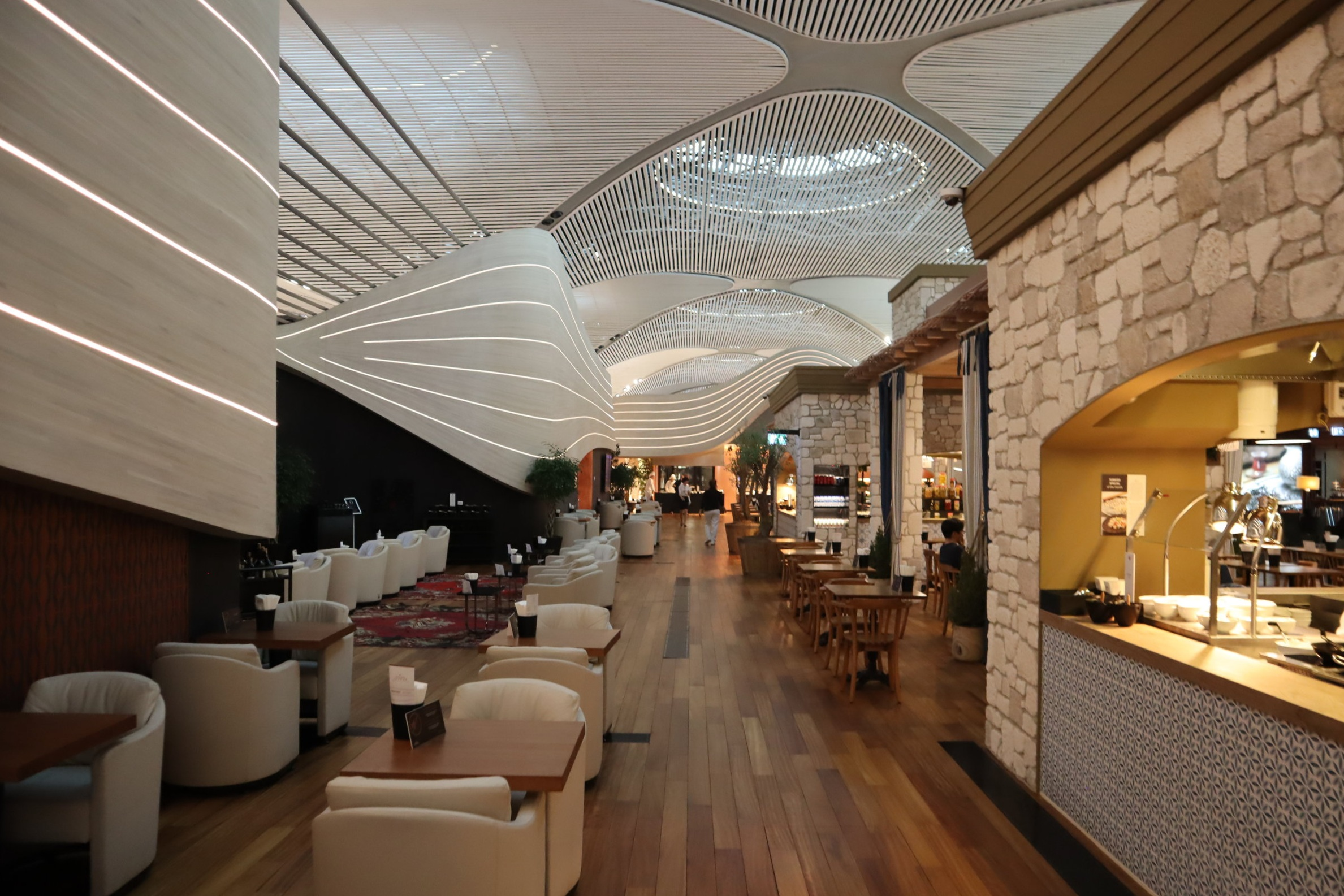 Turkish Airlines Business Lounge Istanbul