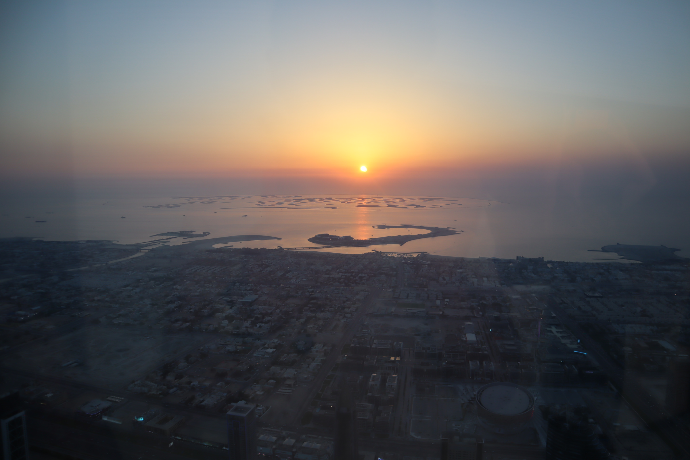 Sunset from the 148th floor