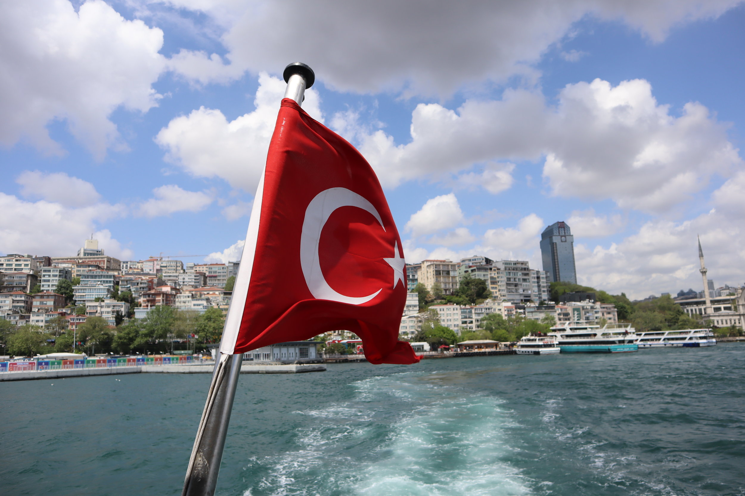 Crossing continents in Istanbul