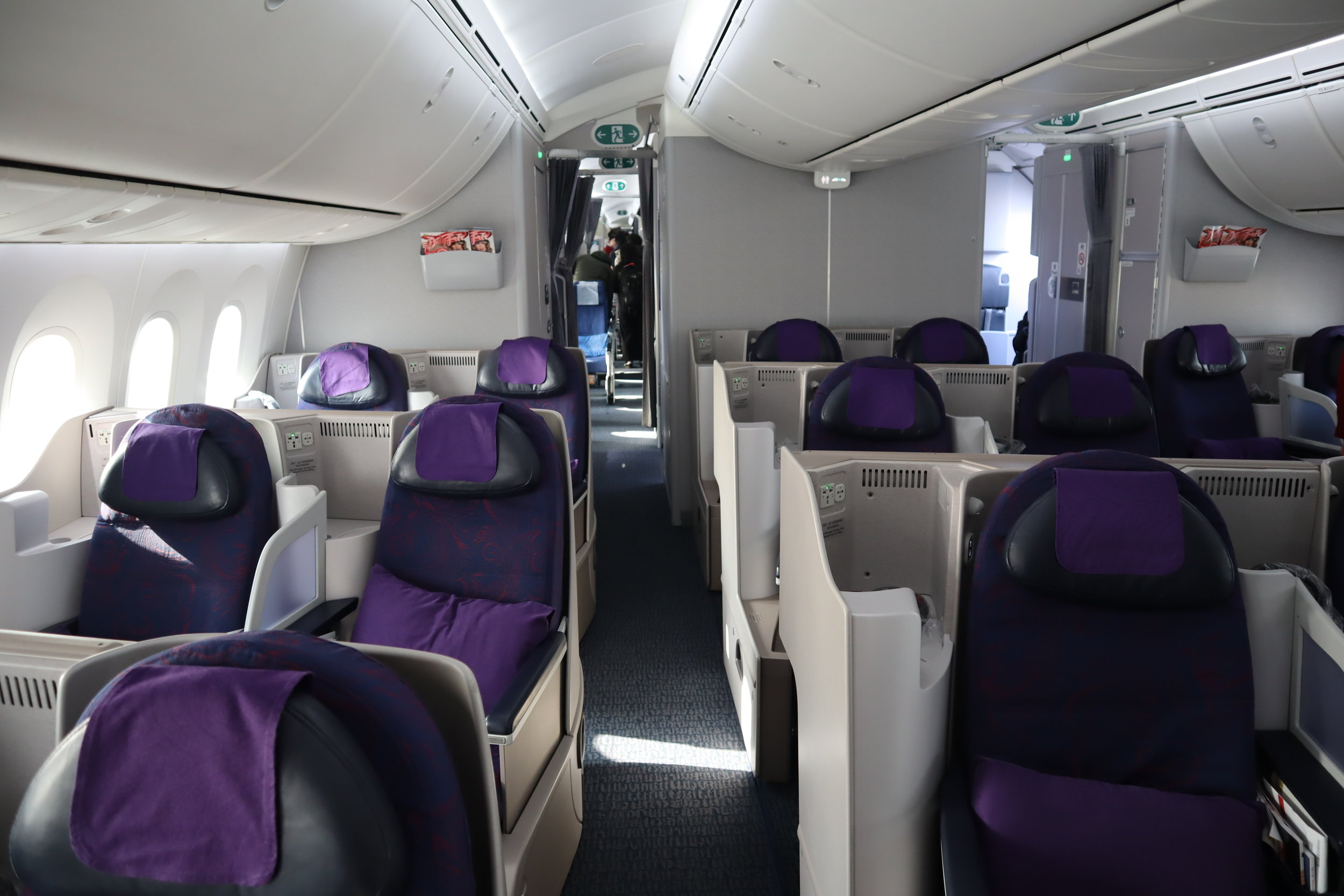 Air China business class – Cabin